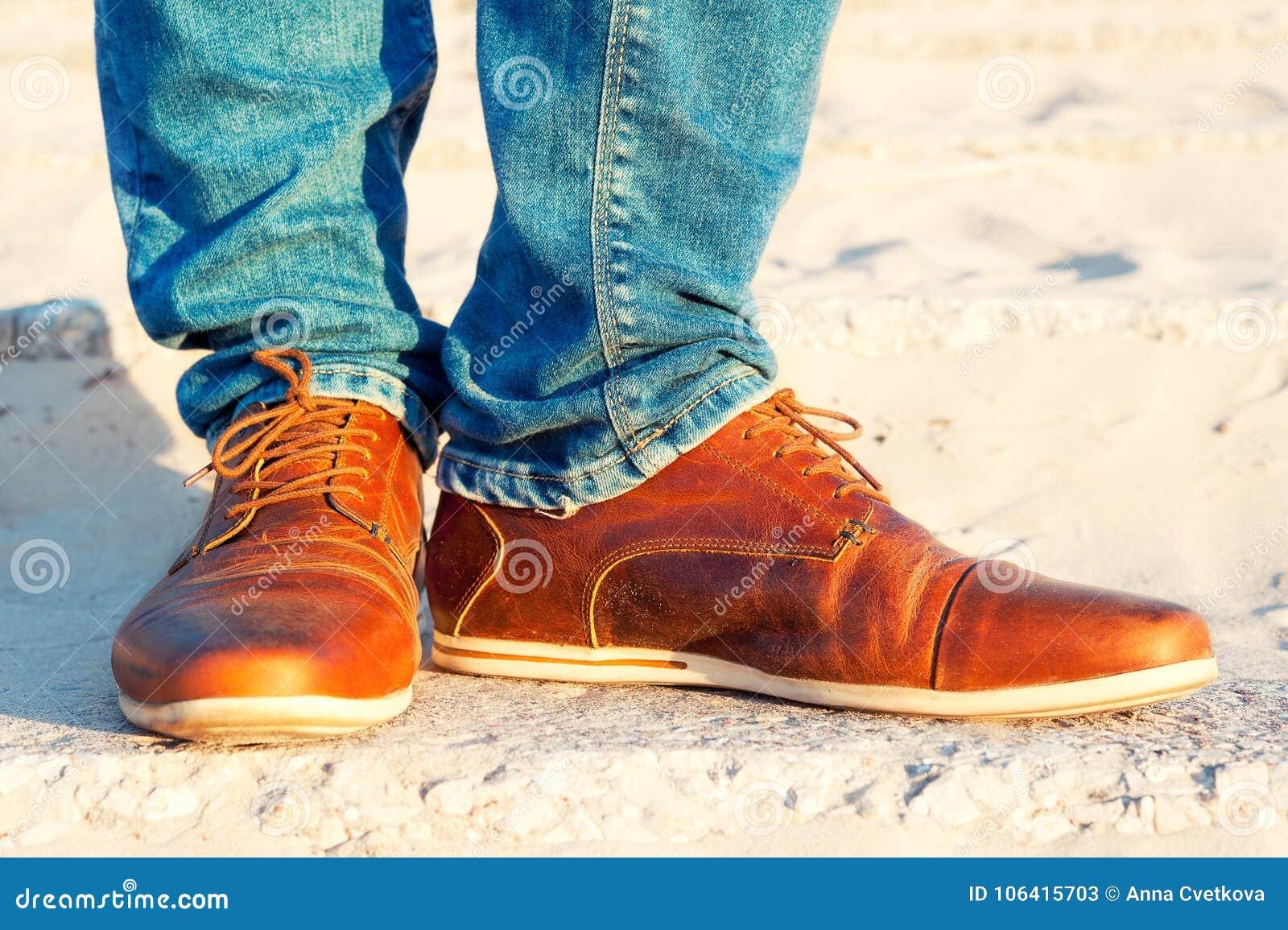 Zapatos Vaqueros Para Hombre Elegantes Piernas Lujo En Cuero De Y qpFBCnx