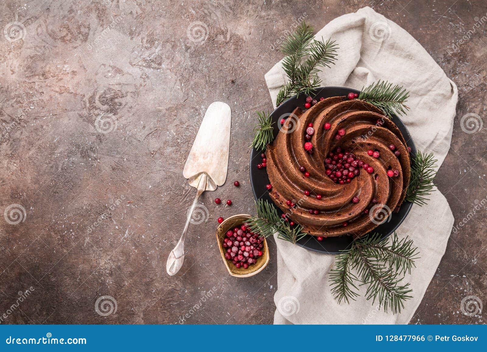 Piernikowy Bundt tort