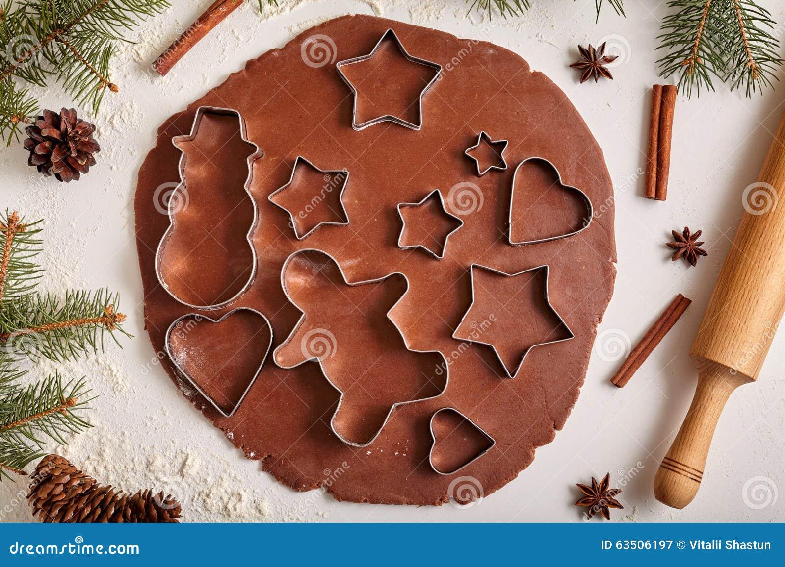Piernikowy ciastka ciasta przygotowania przepis z