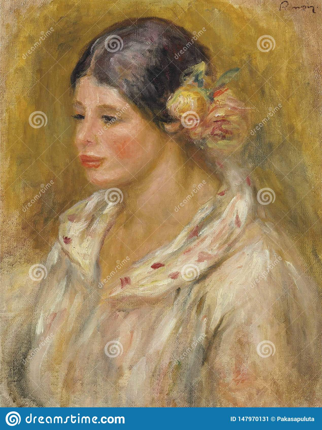 Pierre-auguste Renoir-tte DE Madeleine