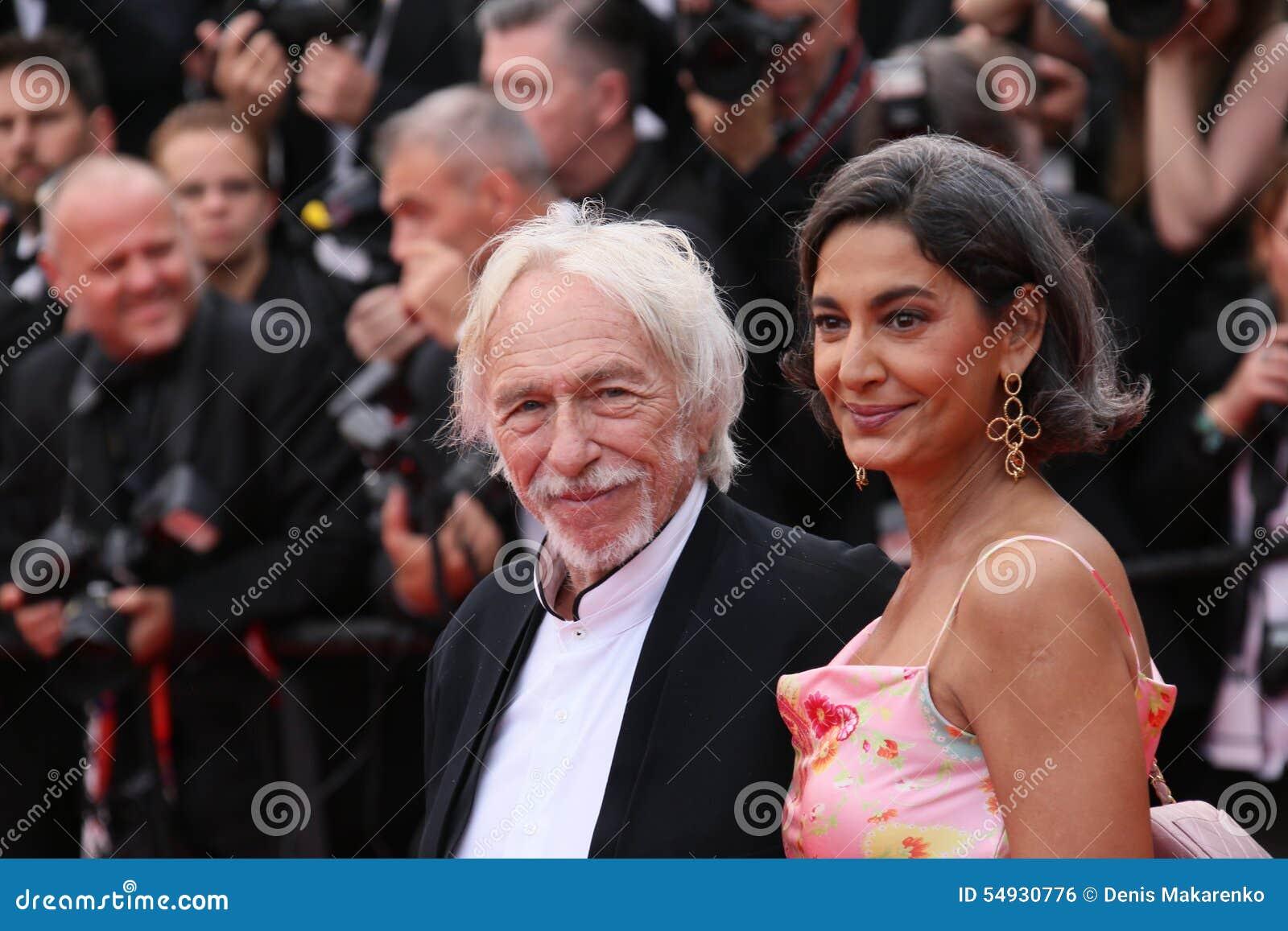 Pierre Richard e sua esposa