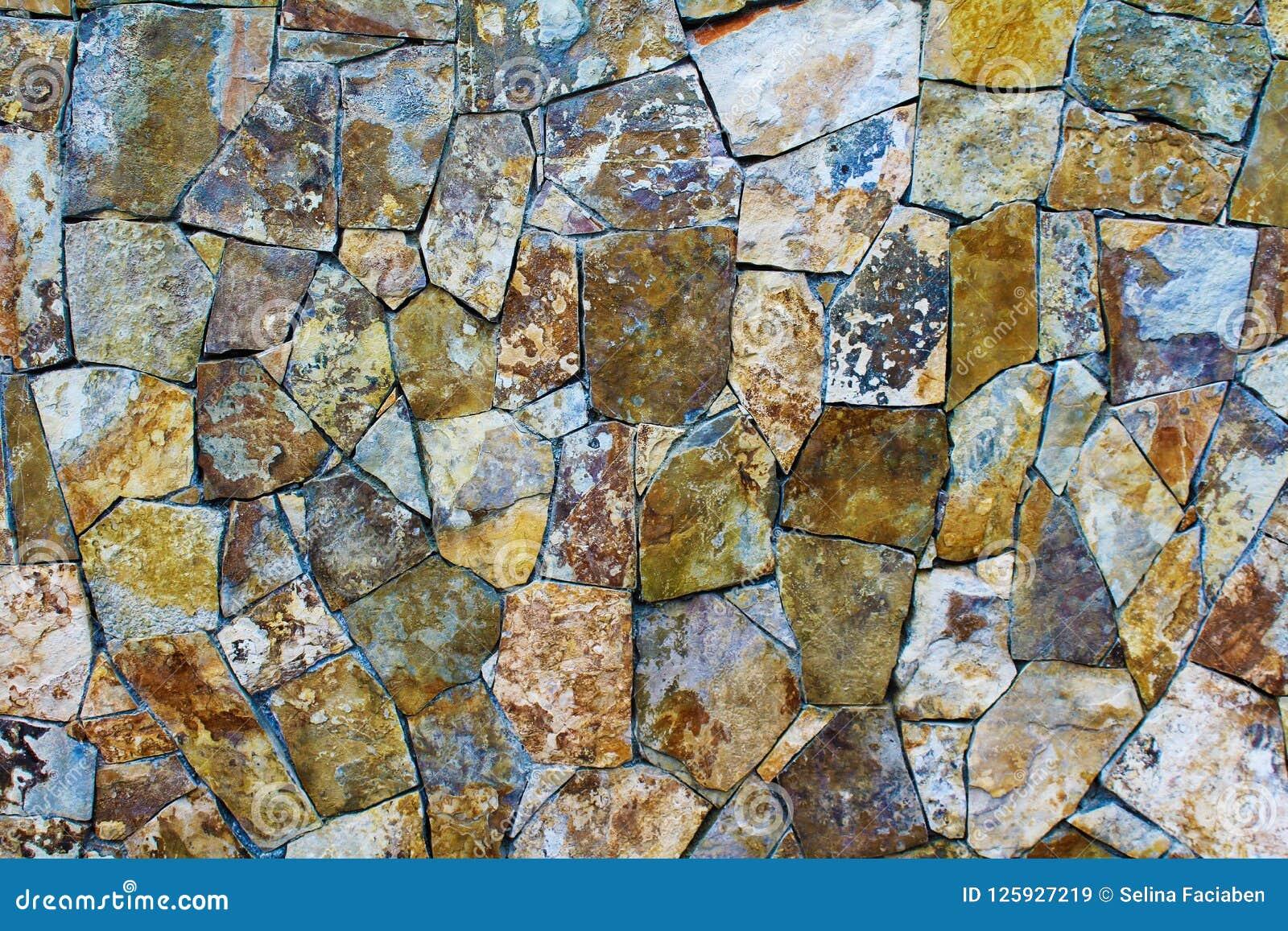 Pierres Naturelles De Mur Extérieur Image Stock Image Du Intérieur