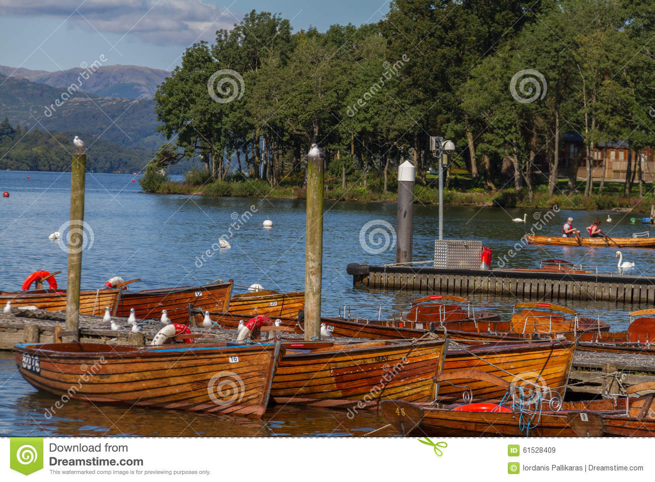 Bowness-On-Windermere United Kingdom  city images : Bowness on Windermere, United Kingdom September 7, 2015: Photo of ...