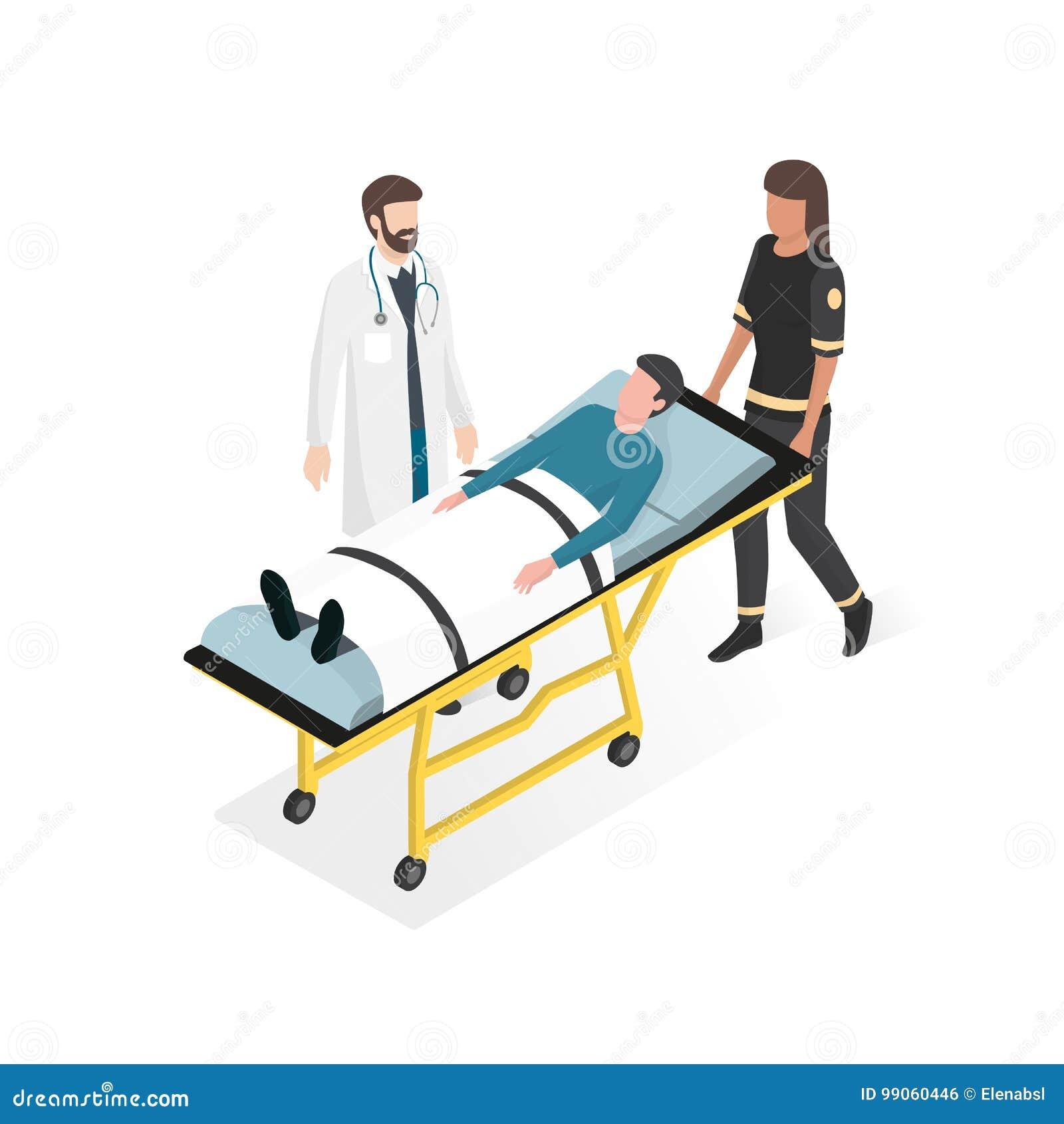 Pierwsza pomoc przy szpitalem