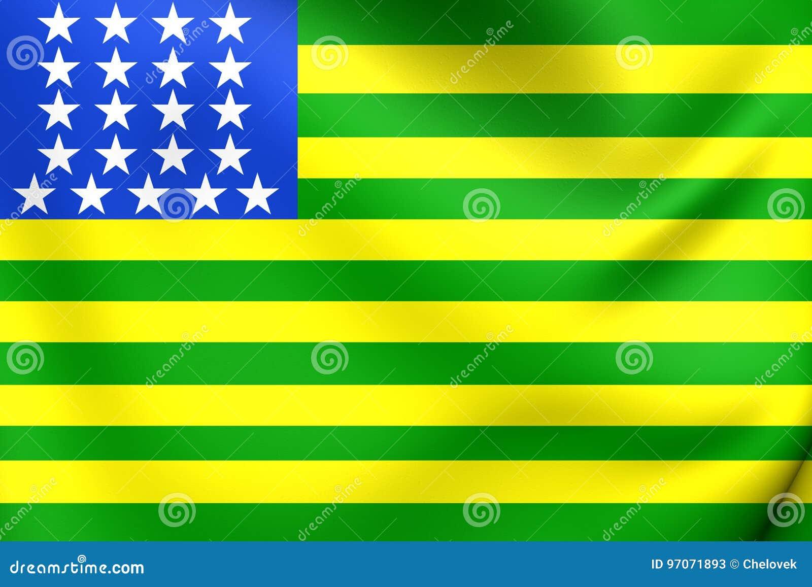 Pierwszy Republikańska Brazylijczyk Flaga, Stany Zjednoczone