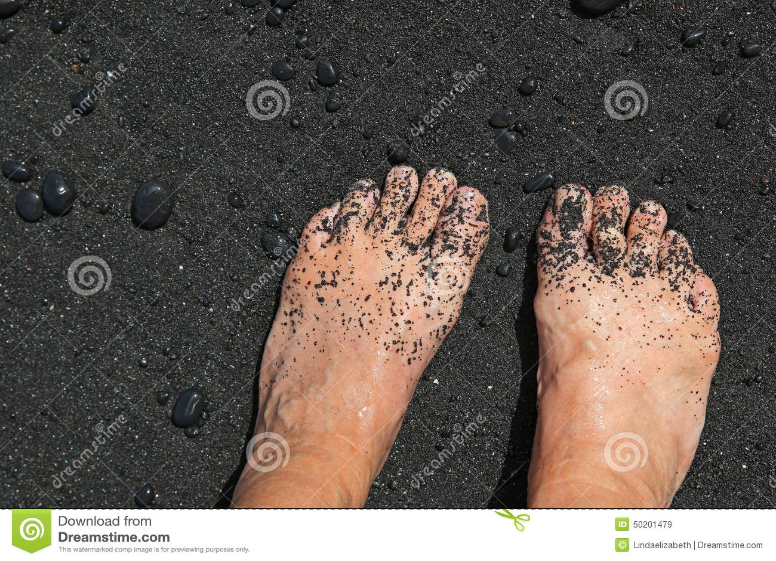 Pie de pie de pie desnudo adolescente