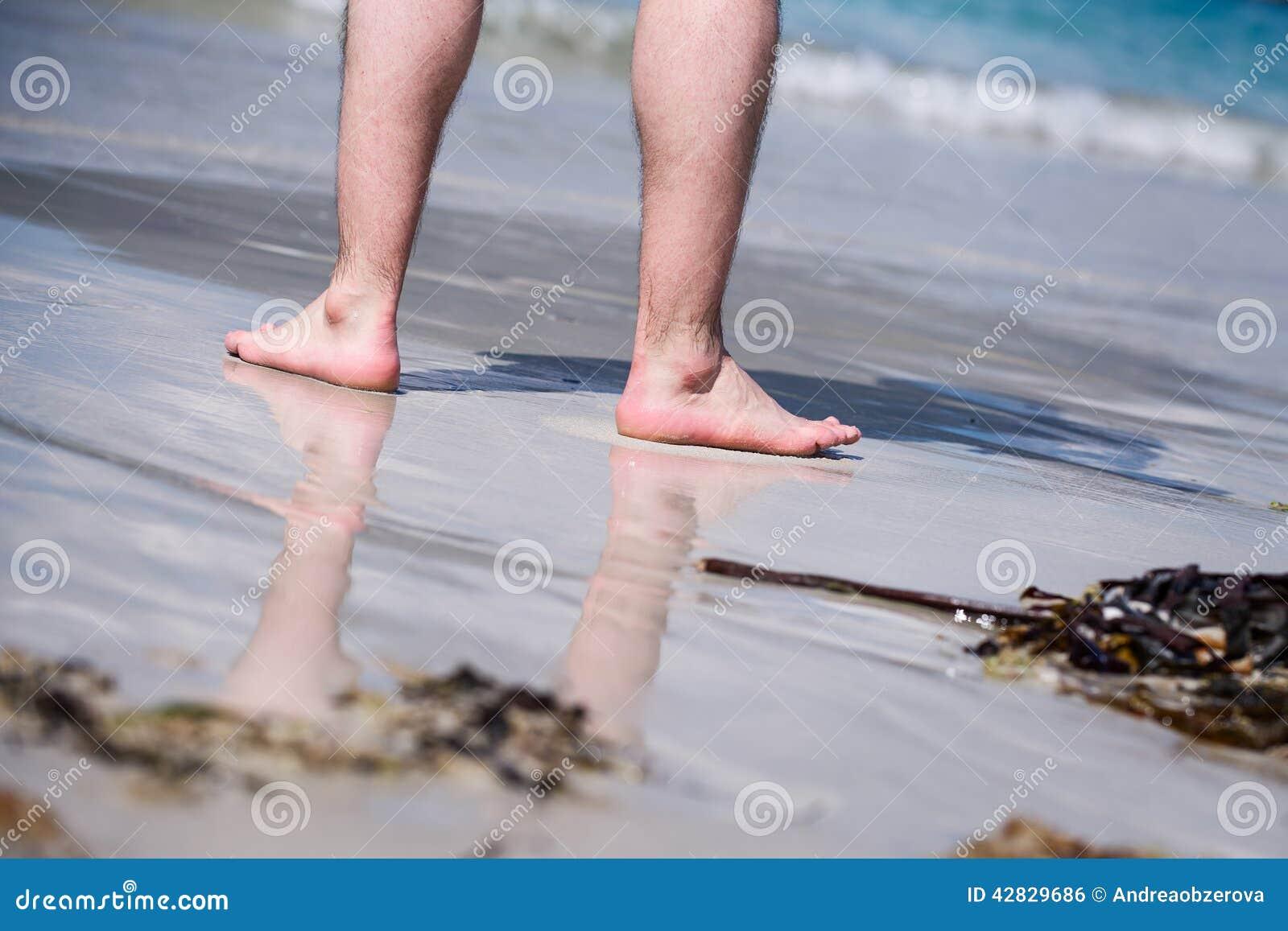Desnudos masculinos en la playa
