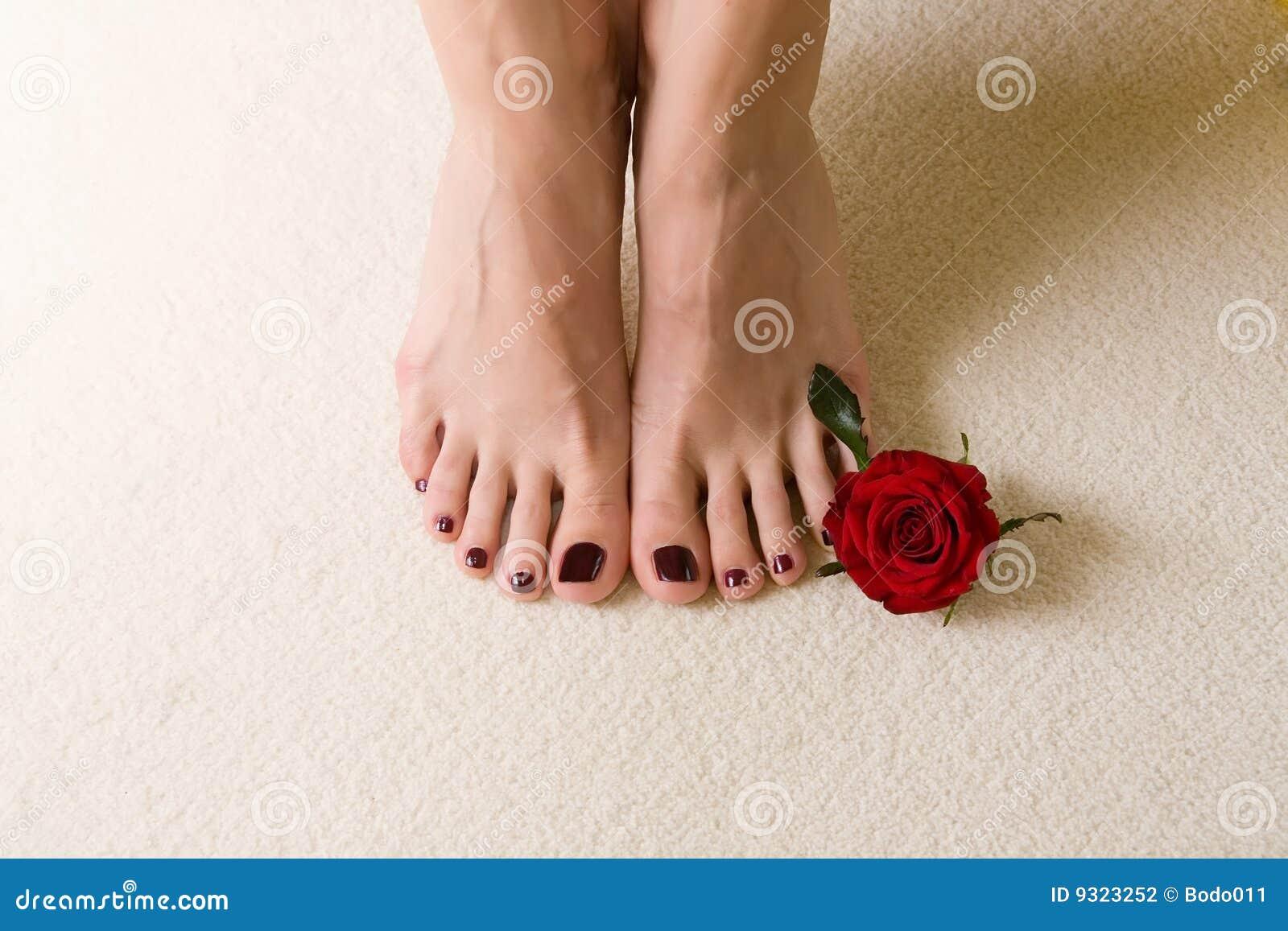 travieso dedos de los pies