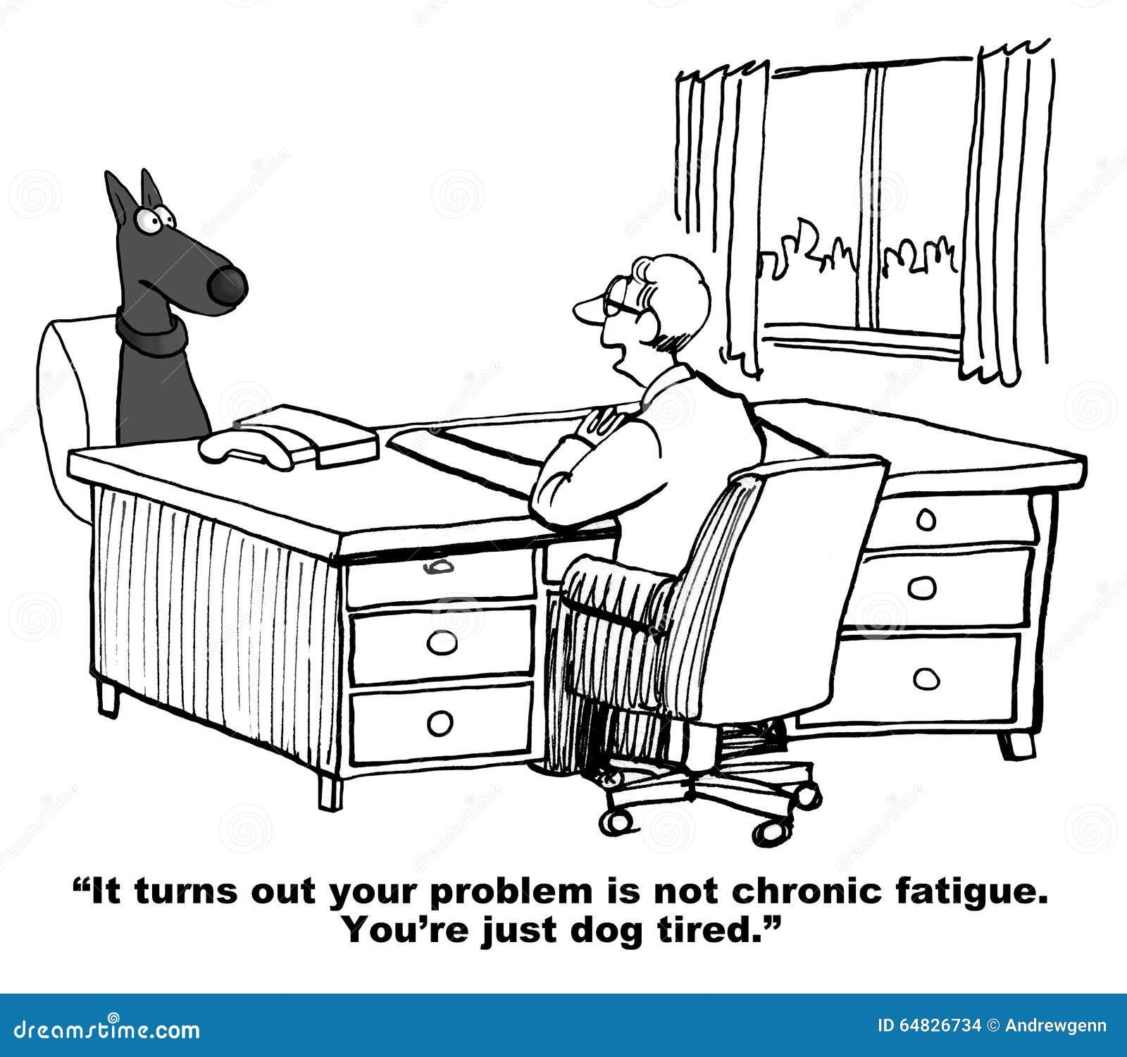 Pies jest Psi Zmęczony