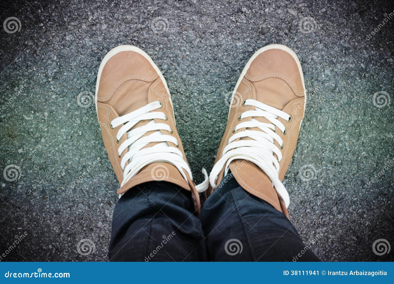 Zapatos selfie