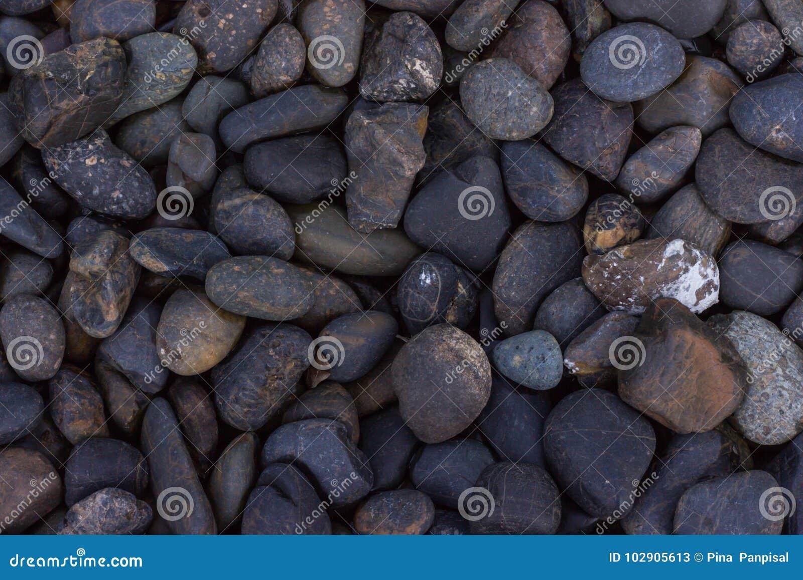 Pietra del fiume, pietra nel parco, struttura di pietra del pavimento, pietre del mare