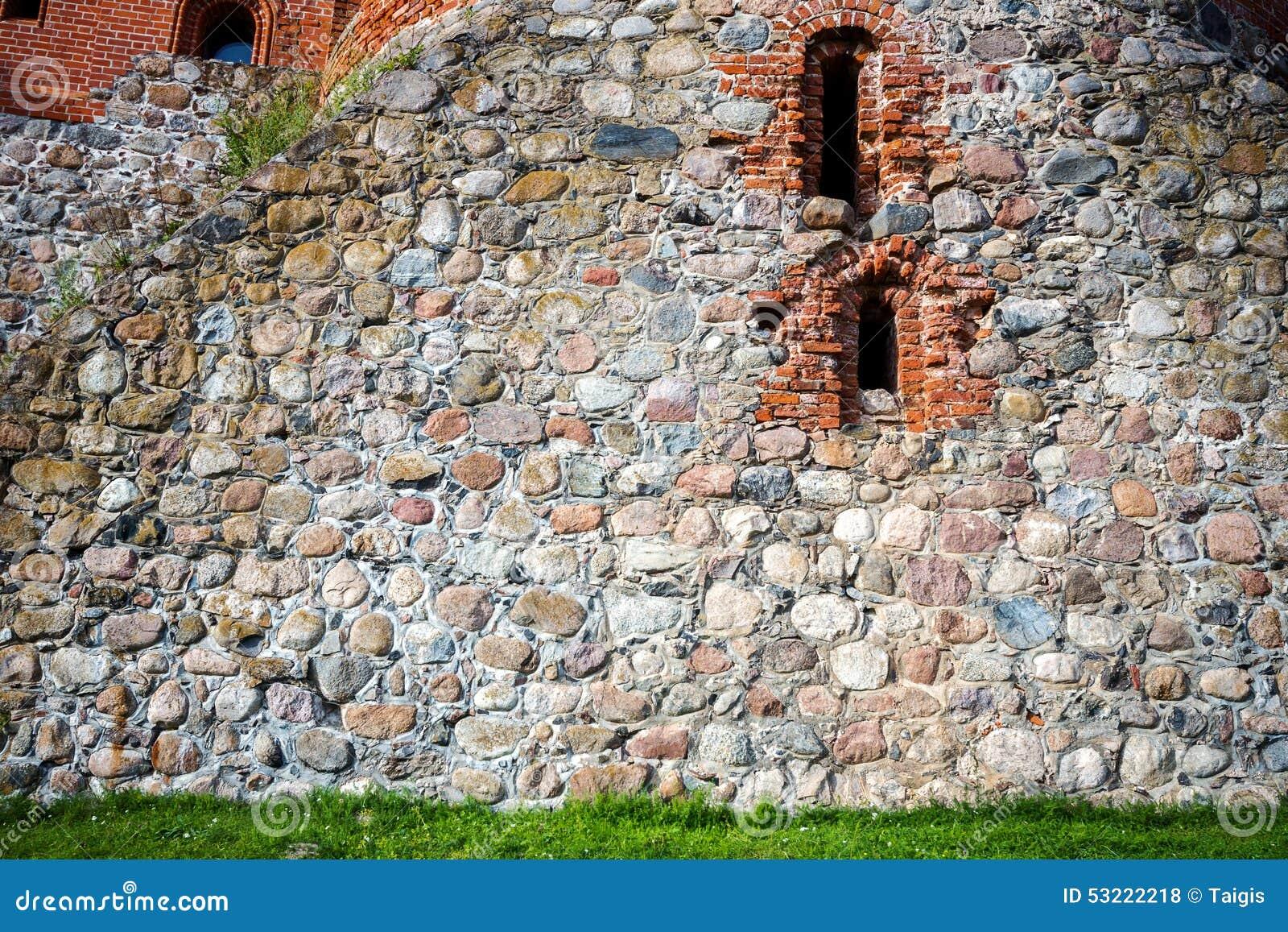 Pietra e muro di mattoni fotografia stock immagine 53222218 for Mattoni e pietra americani