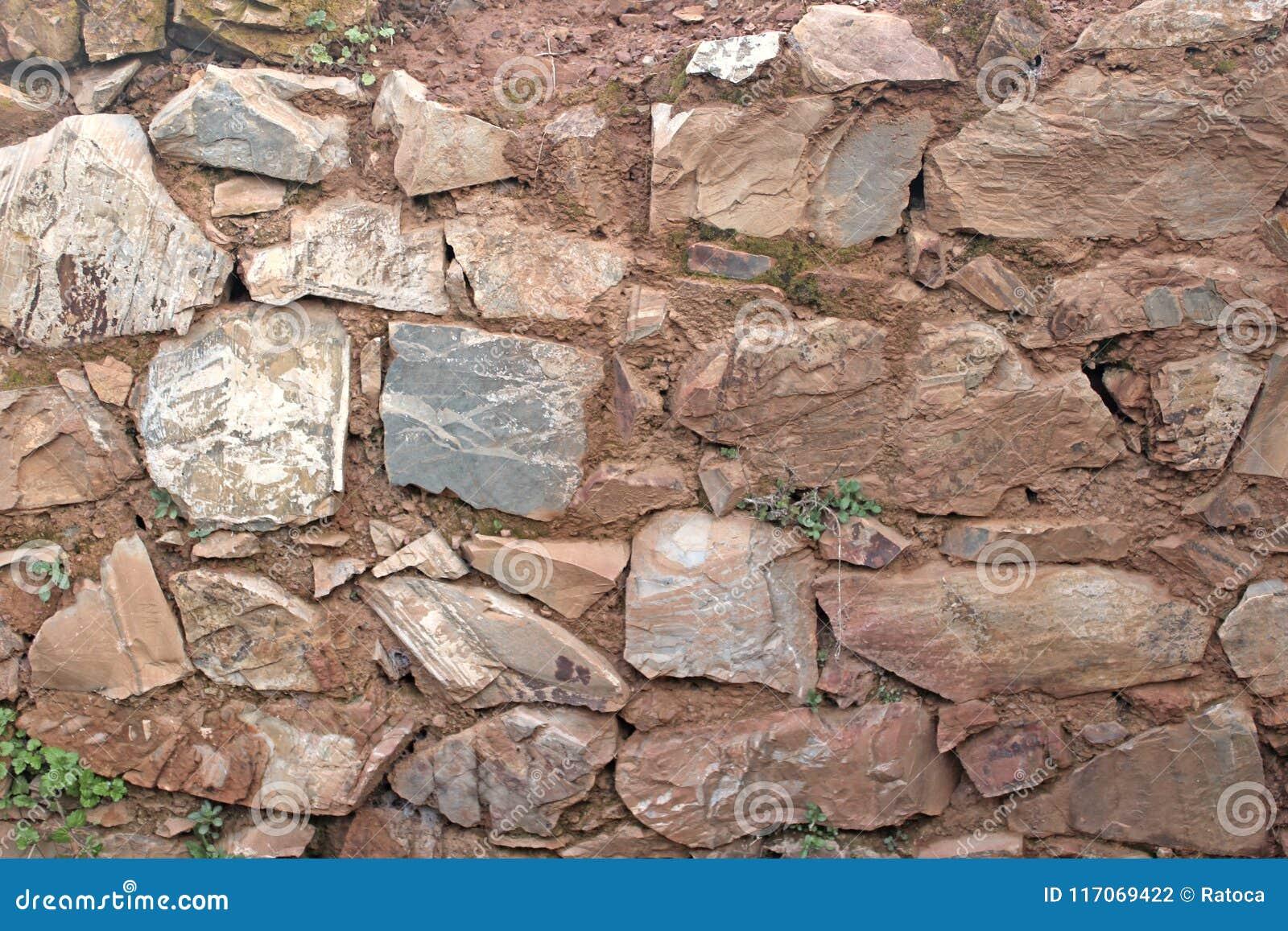 Pietra rurale della parete