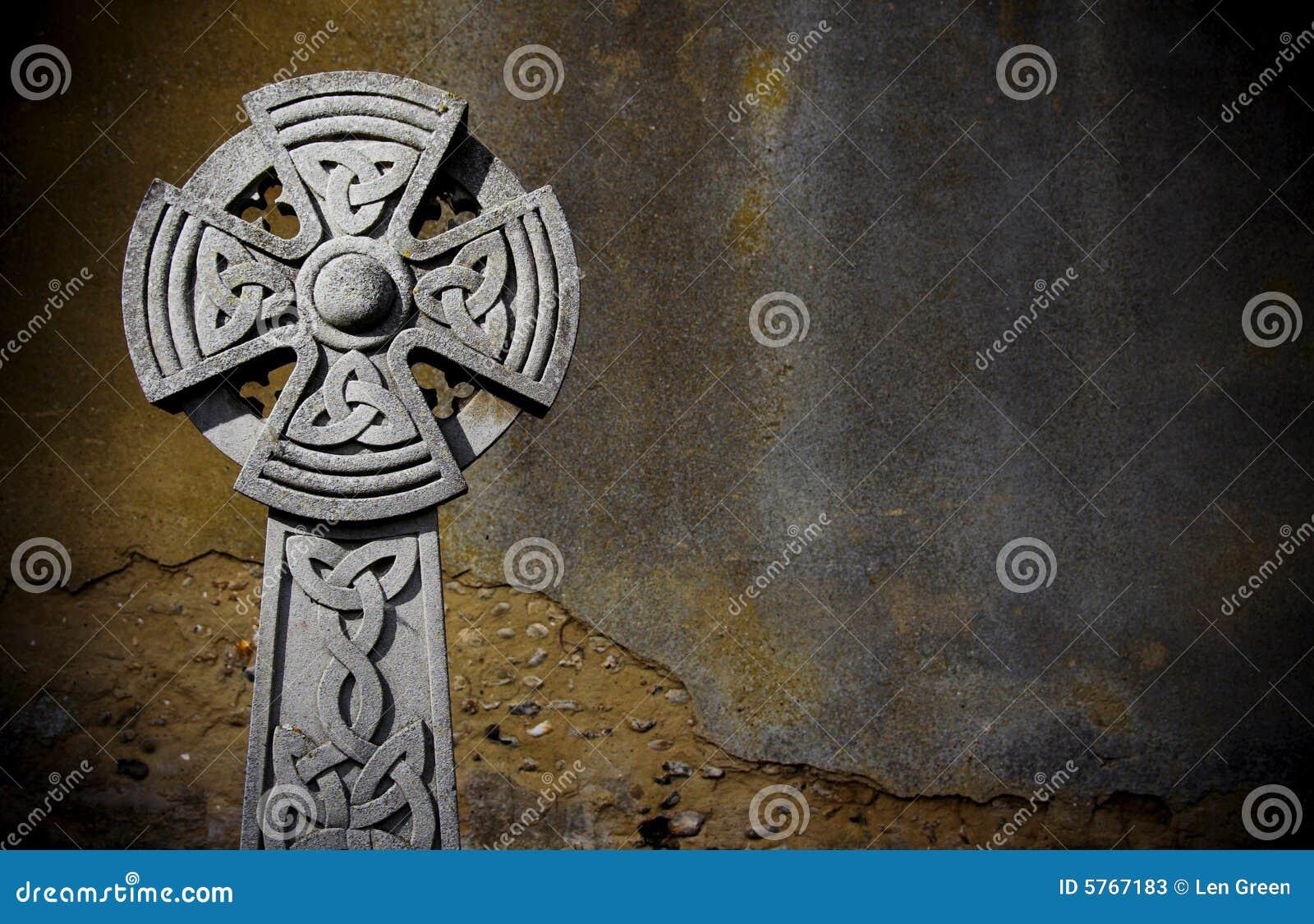 Pietra tombale celtica