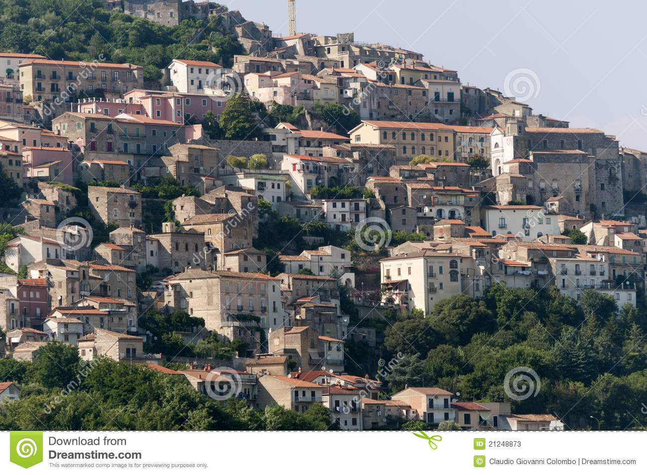 Caserta Italy  city photo : Pietravairano Caserta Italy Old Town Stock Photos Image ...