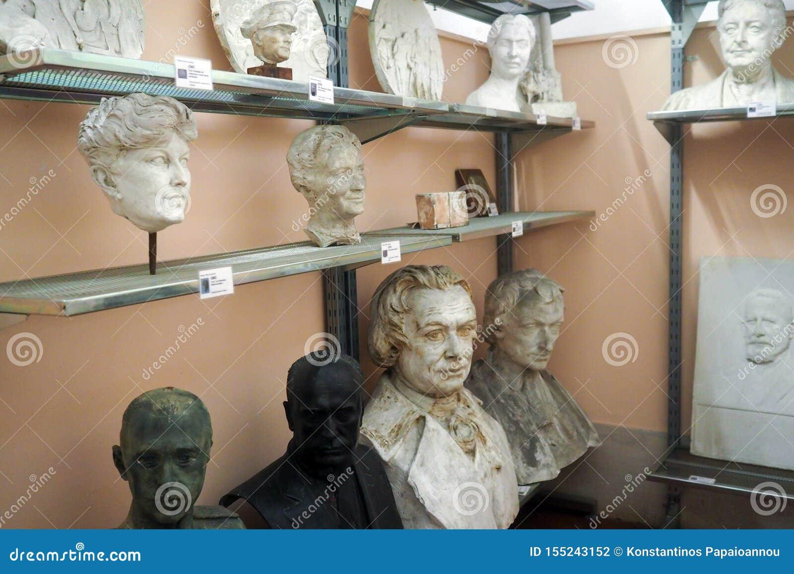 Pietro Canonica Museum nos jardins de Borghese da casa de campo em Roma, Itália