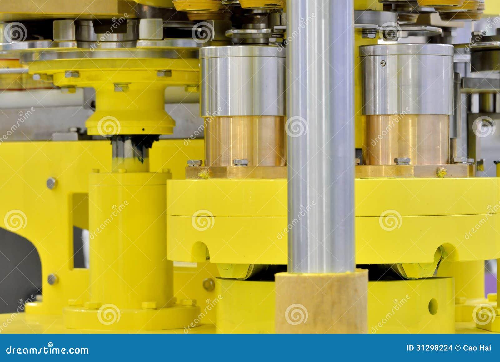 Pieza de la transmisión de equipo de fabricación