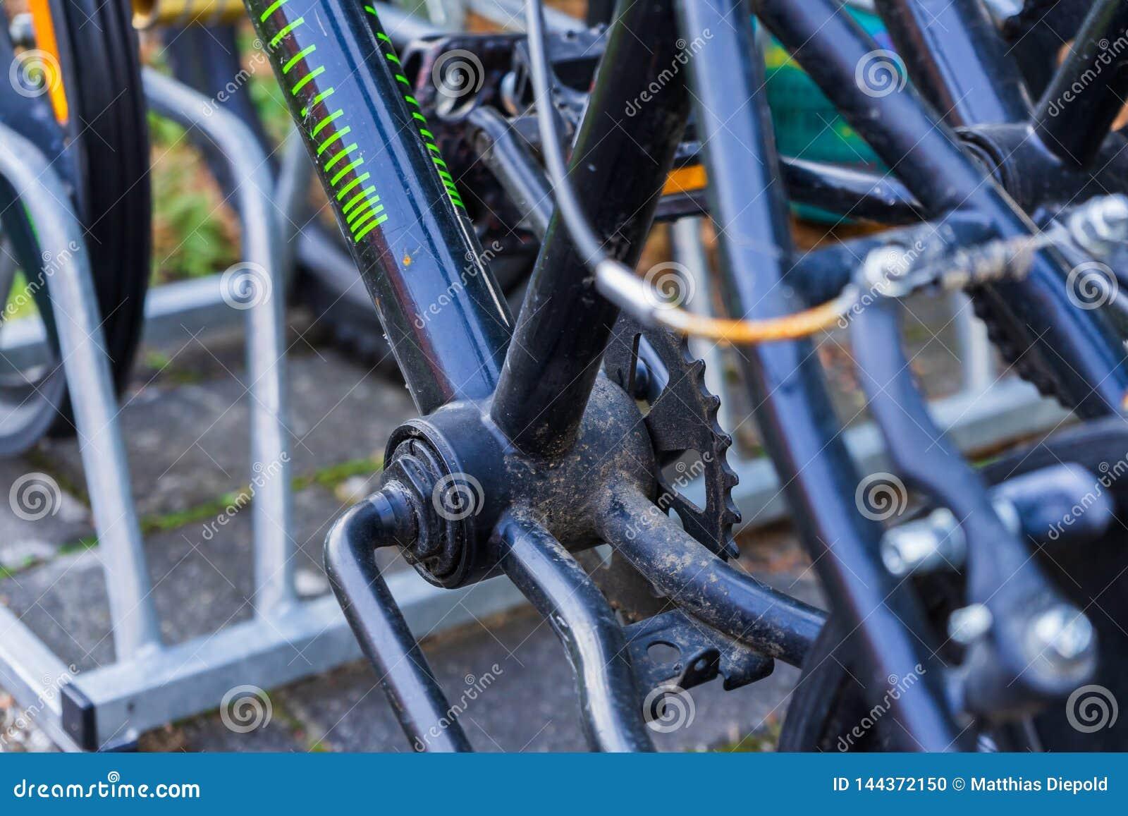 Pieza de una bicicleta de BMX