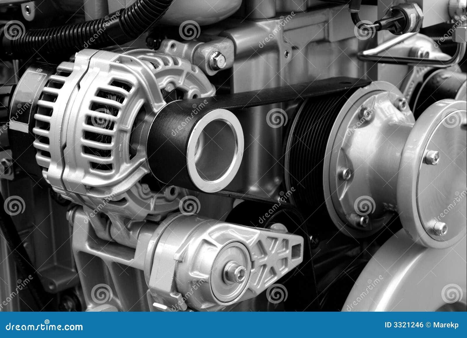 Piezas y componentes del motor