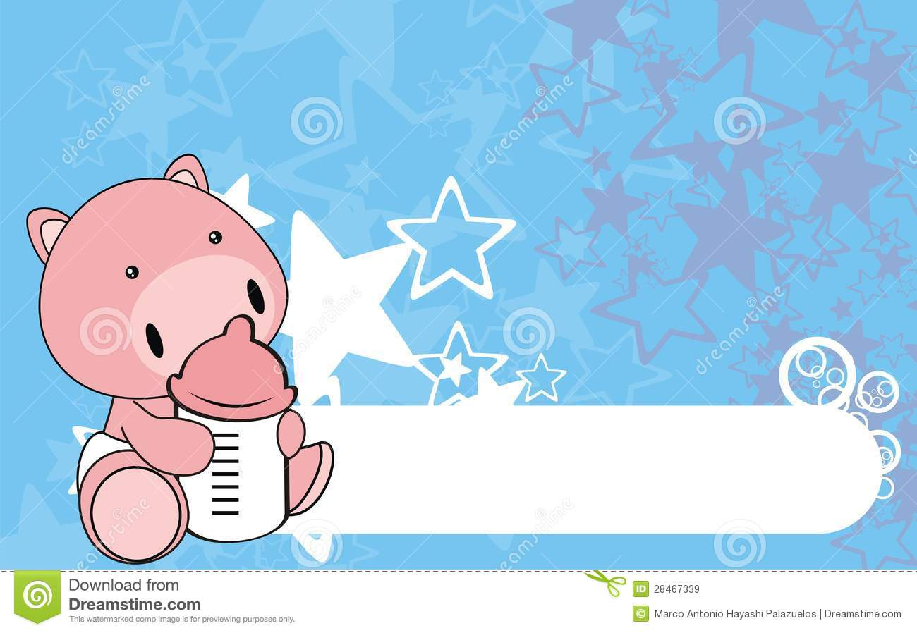 Pig Baby Cartoon Background0 Royalty Free Stock Images ...