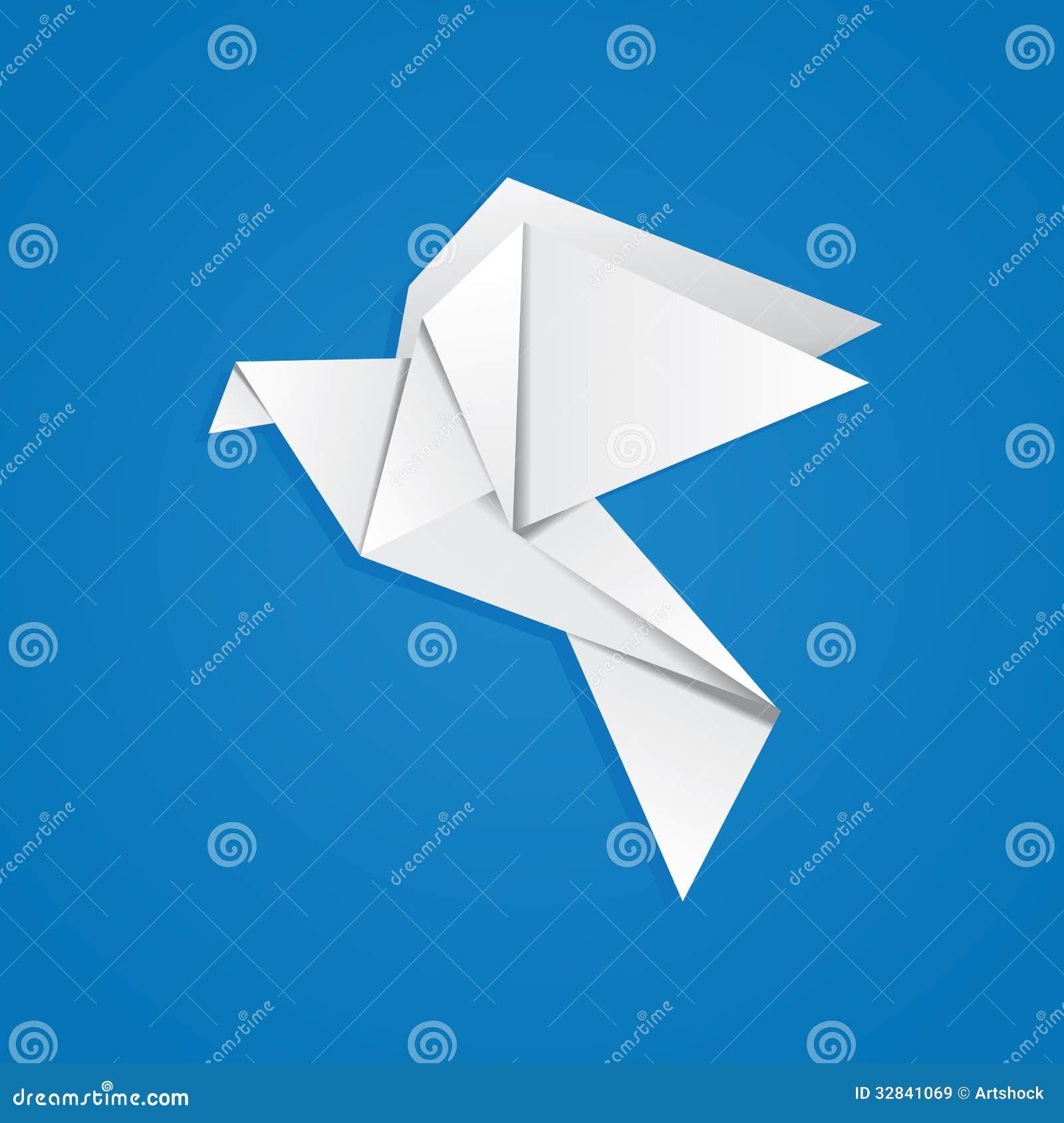 origami paloma