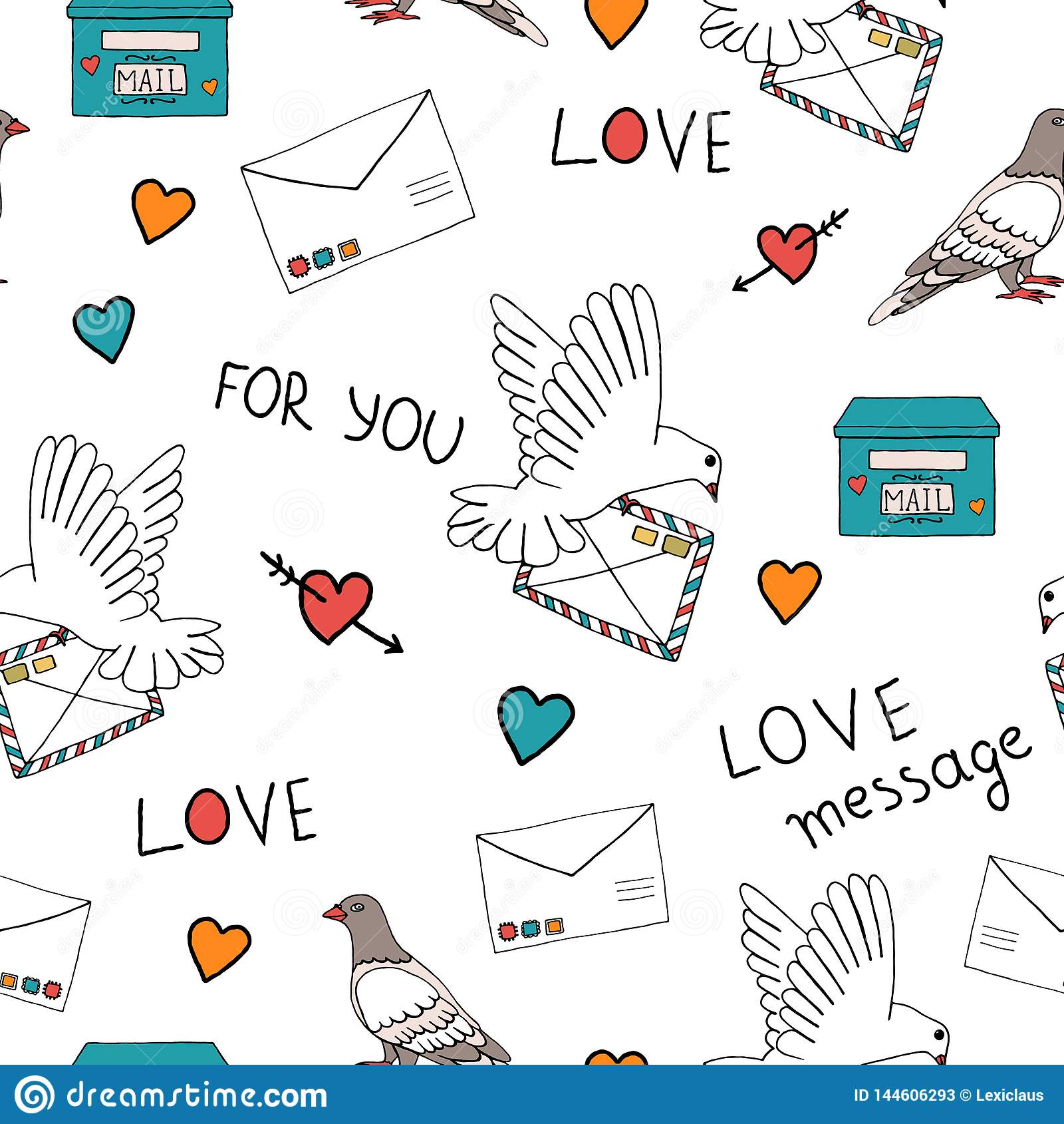 Pigeon post pattern