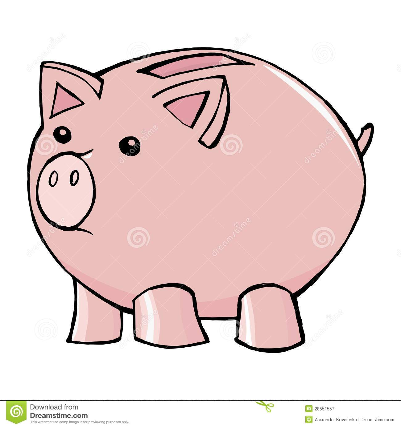 Piggy Bank Royalty Free Stock Photography - Image: 28551557