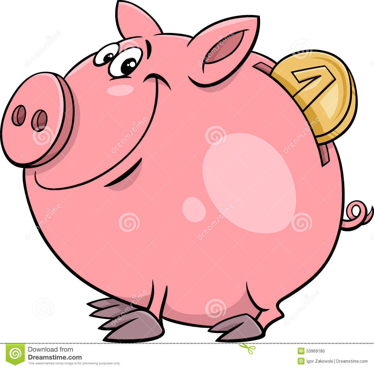 piggy bank with coin cartoon stock vector image 53969180 person running fast clipart guy running clipart