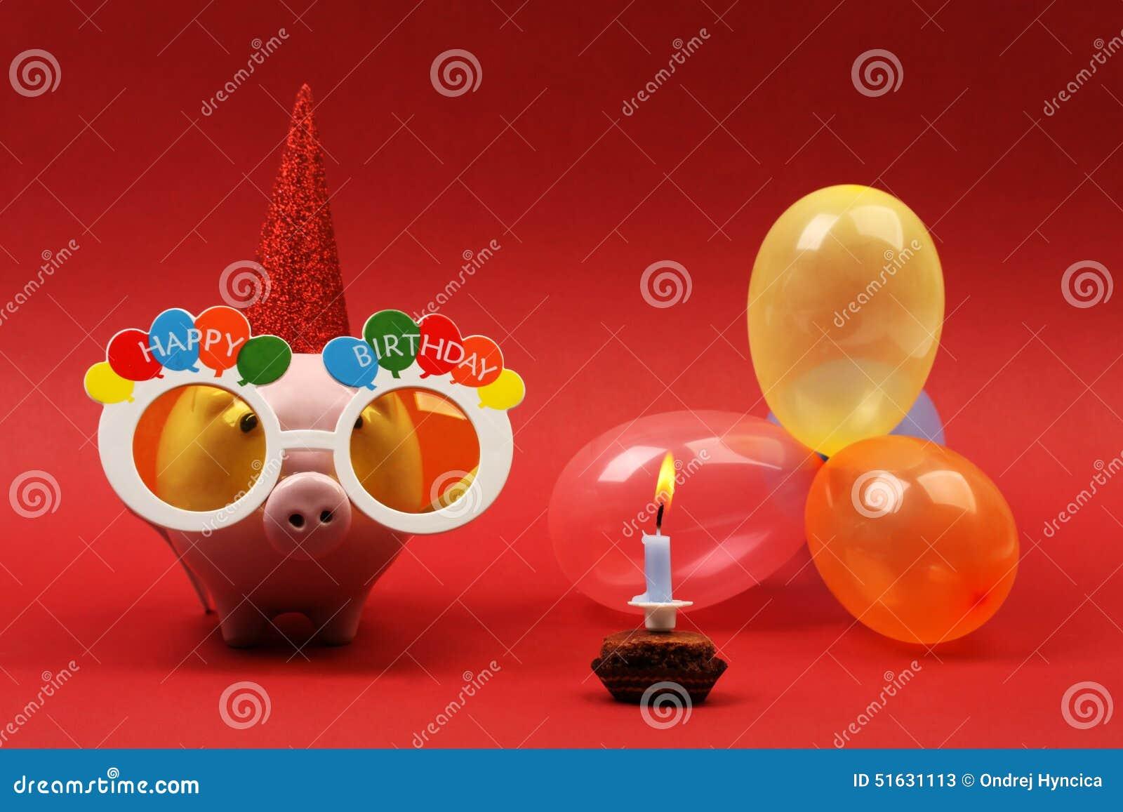 Happy Birthday Piggy Cake