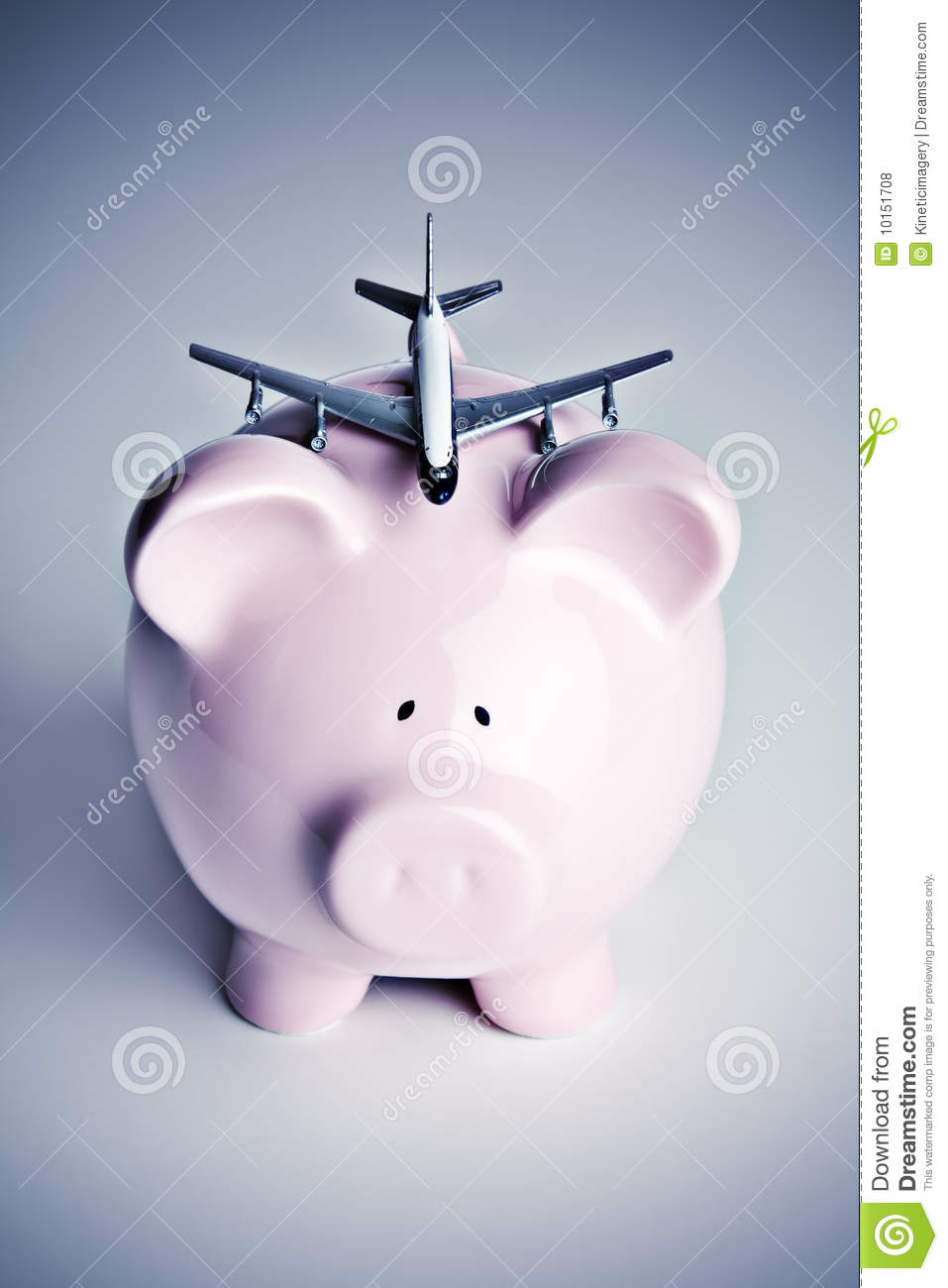 piggy bank with toy airplane royalty free stock photos  image  - airplane bank piggy
