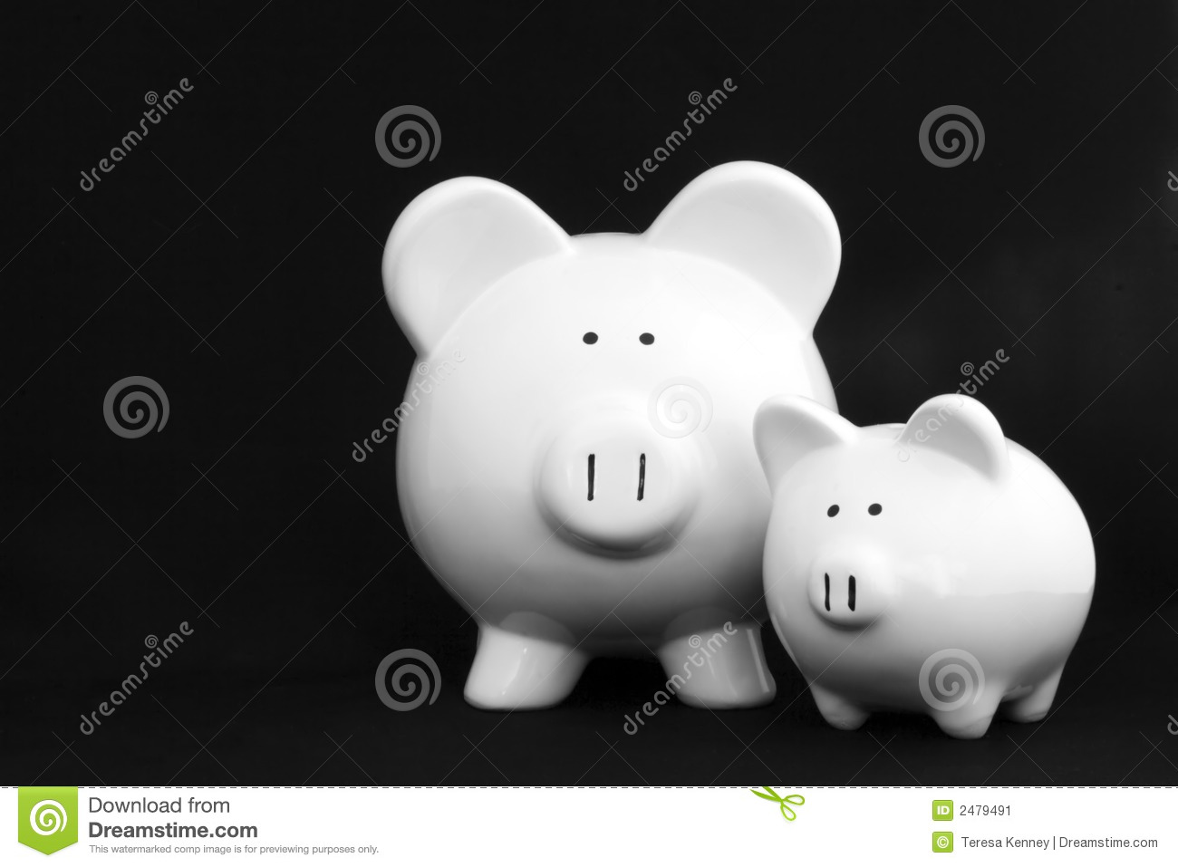 Piggy Banks, Two