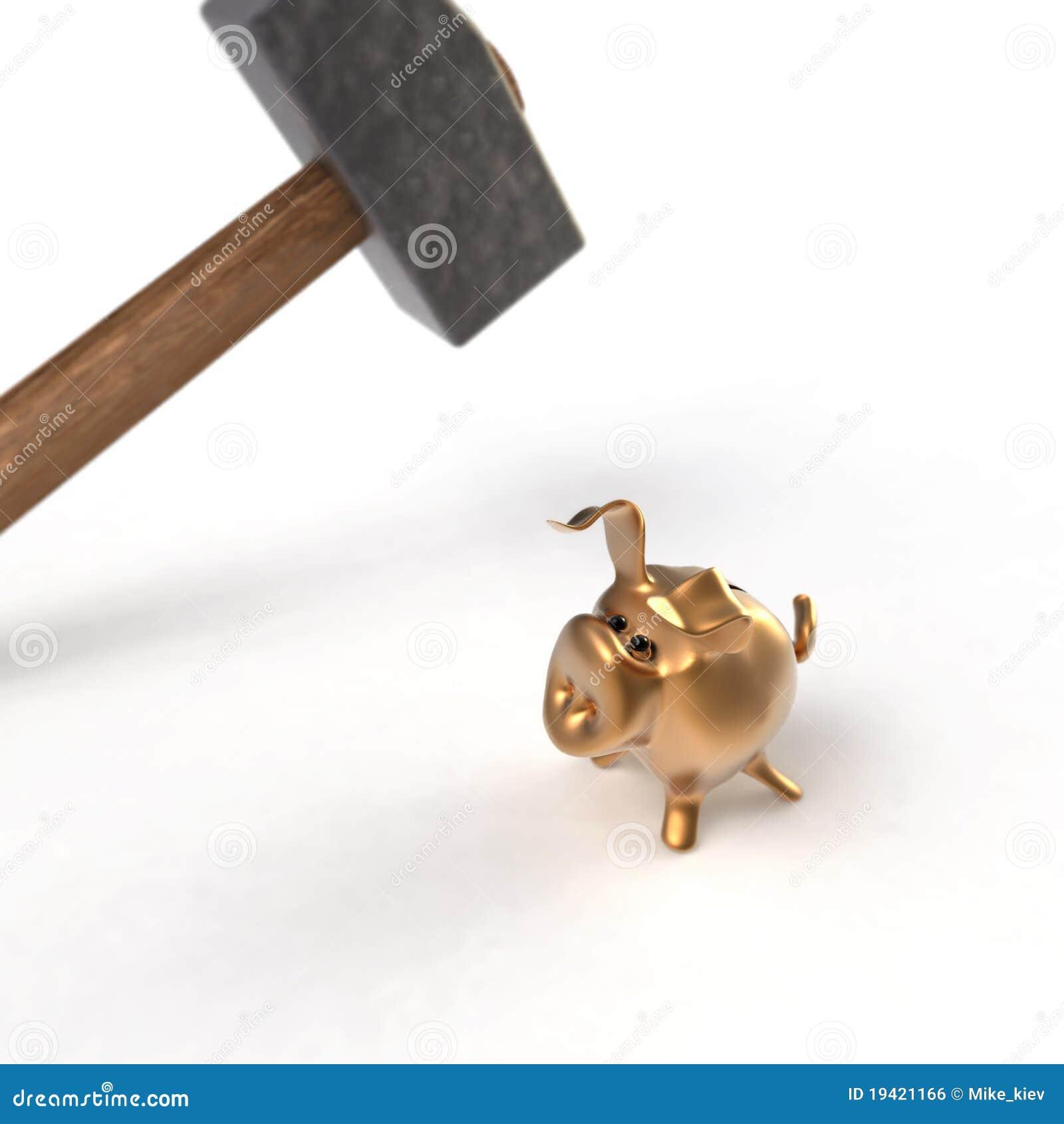 Piggy Querneigung vor Ausführung