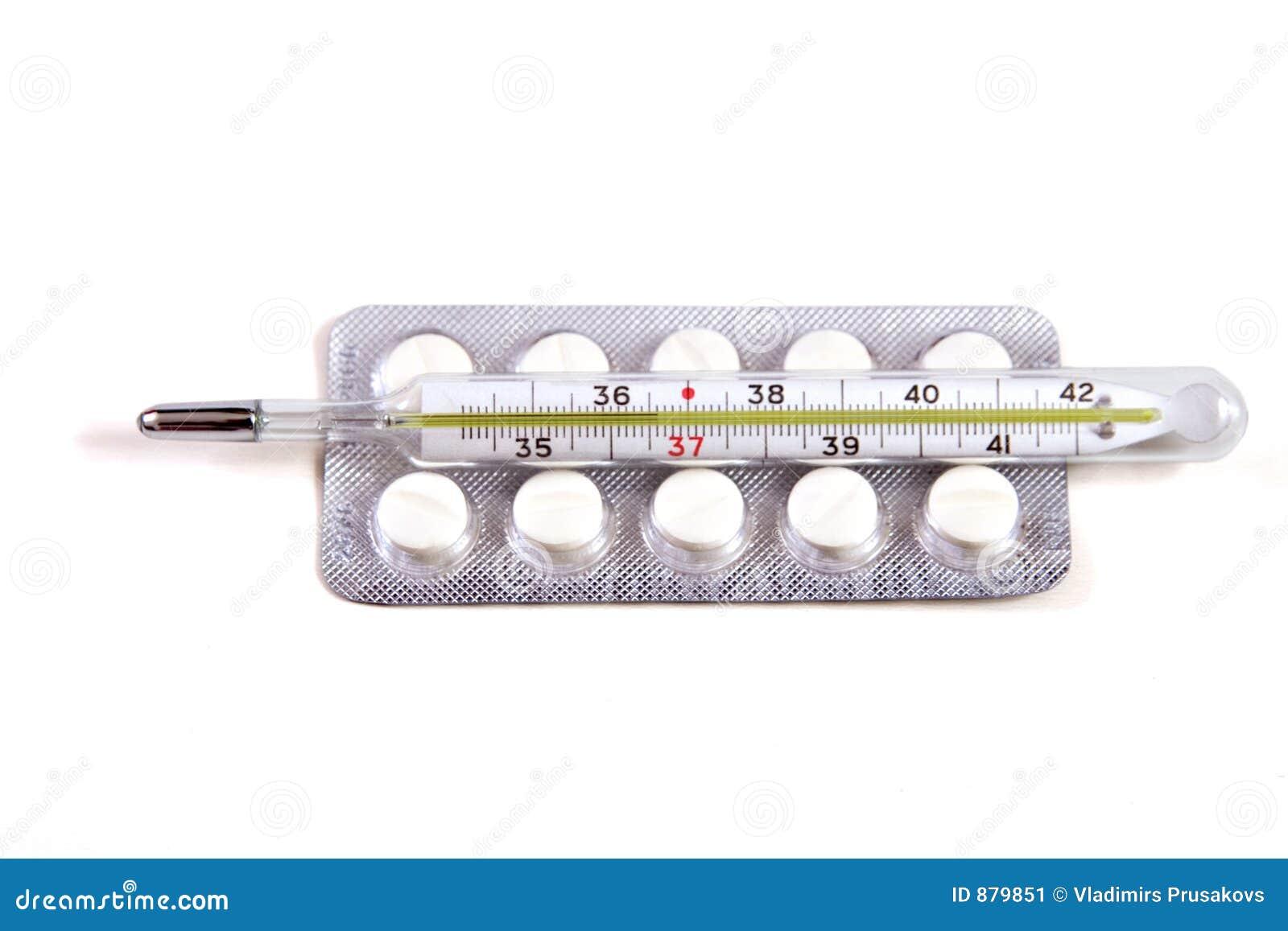 Pigułka termometr