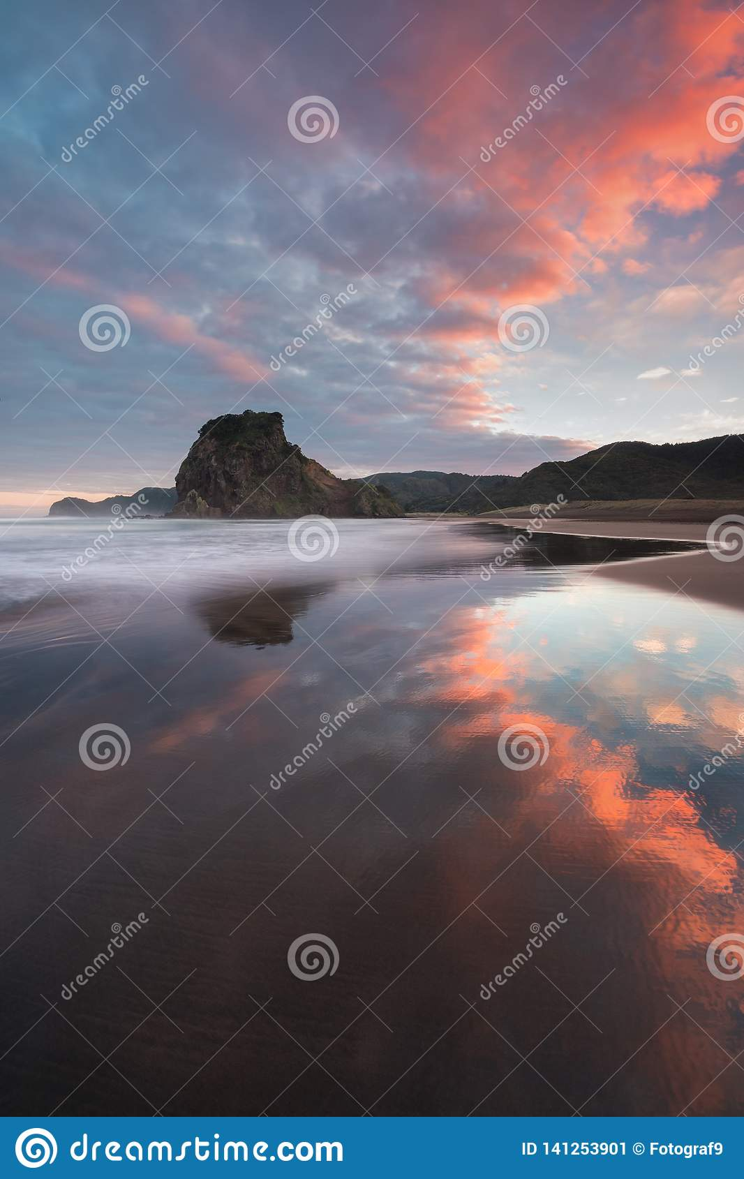 Piha beach is a coastal settlement on the western coast of the Auckland Region in New Zealand. It is one of the most popular beach