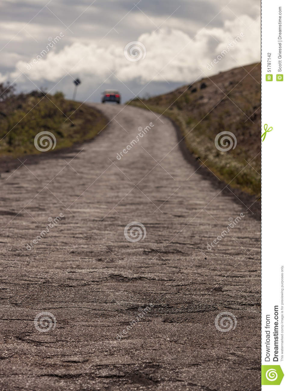 piilani highway road past hana stock photo image of rutted road