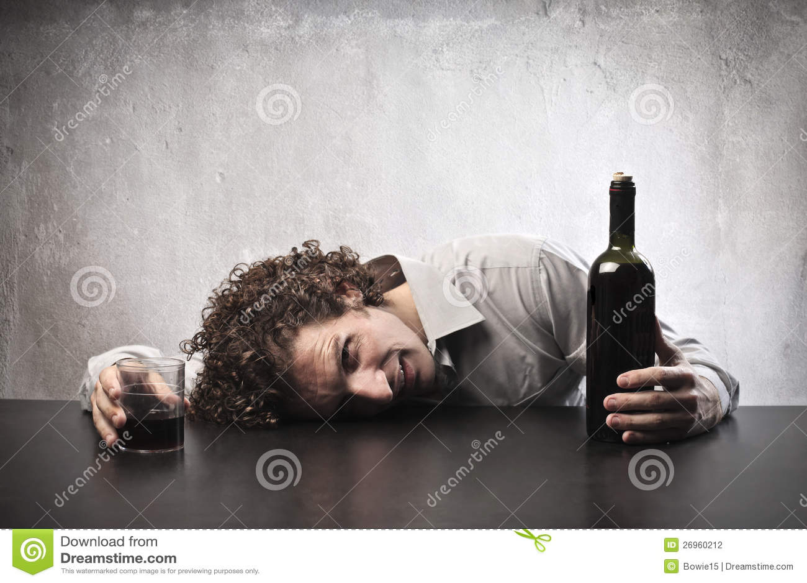 Pijący z Winem