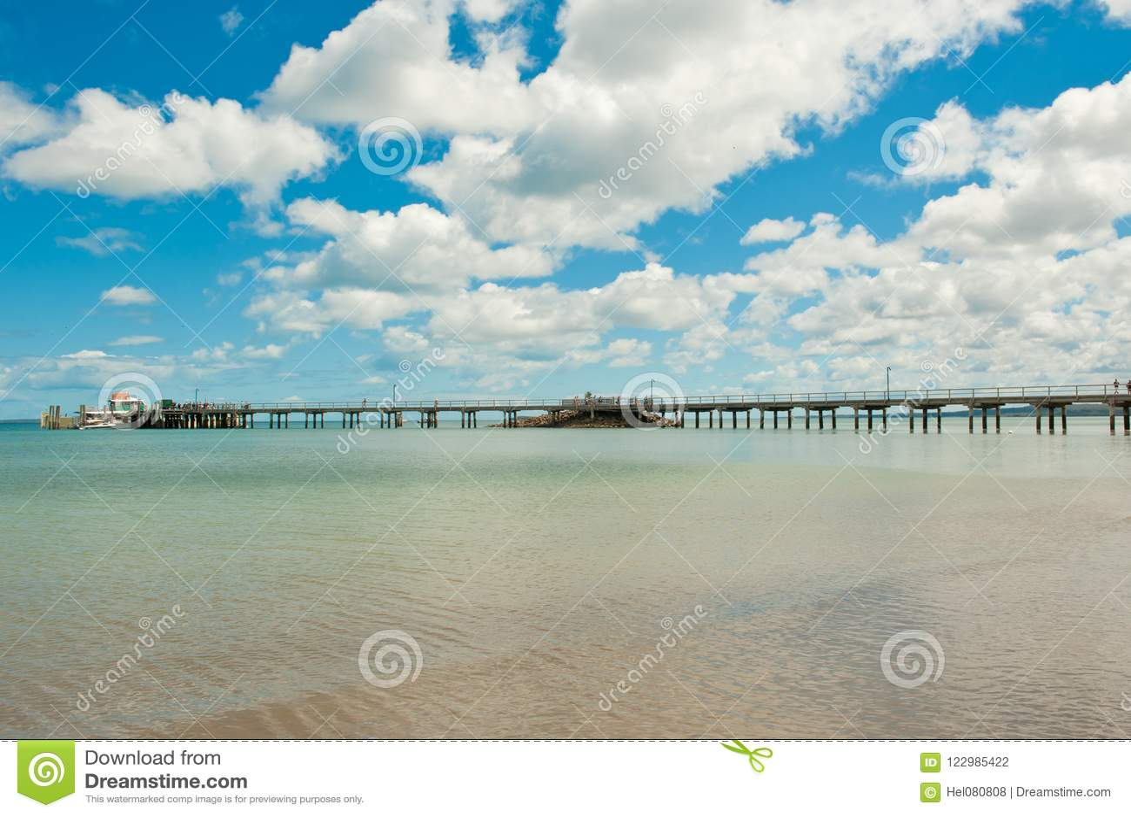 Pijler van Fraser Island, Westkust van Australië