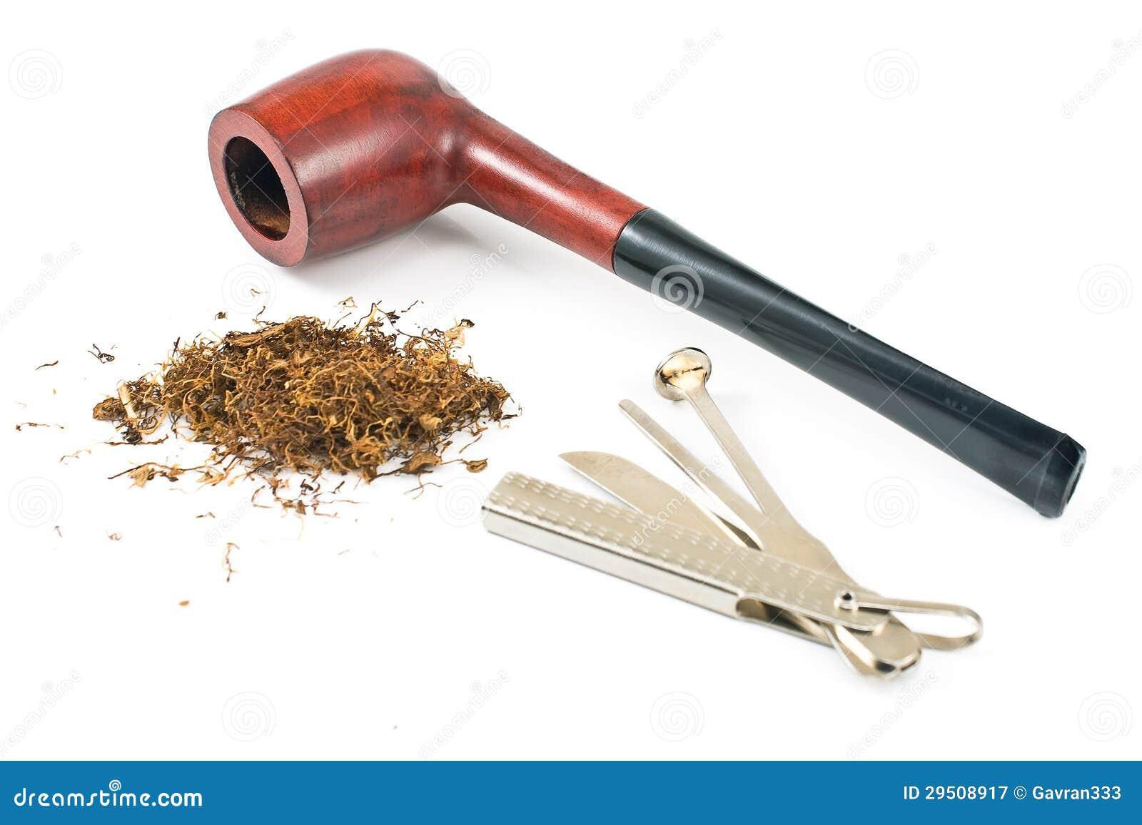 Pijp en schoonmakend hulpmiddel