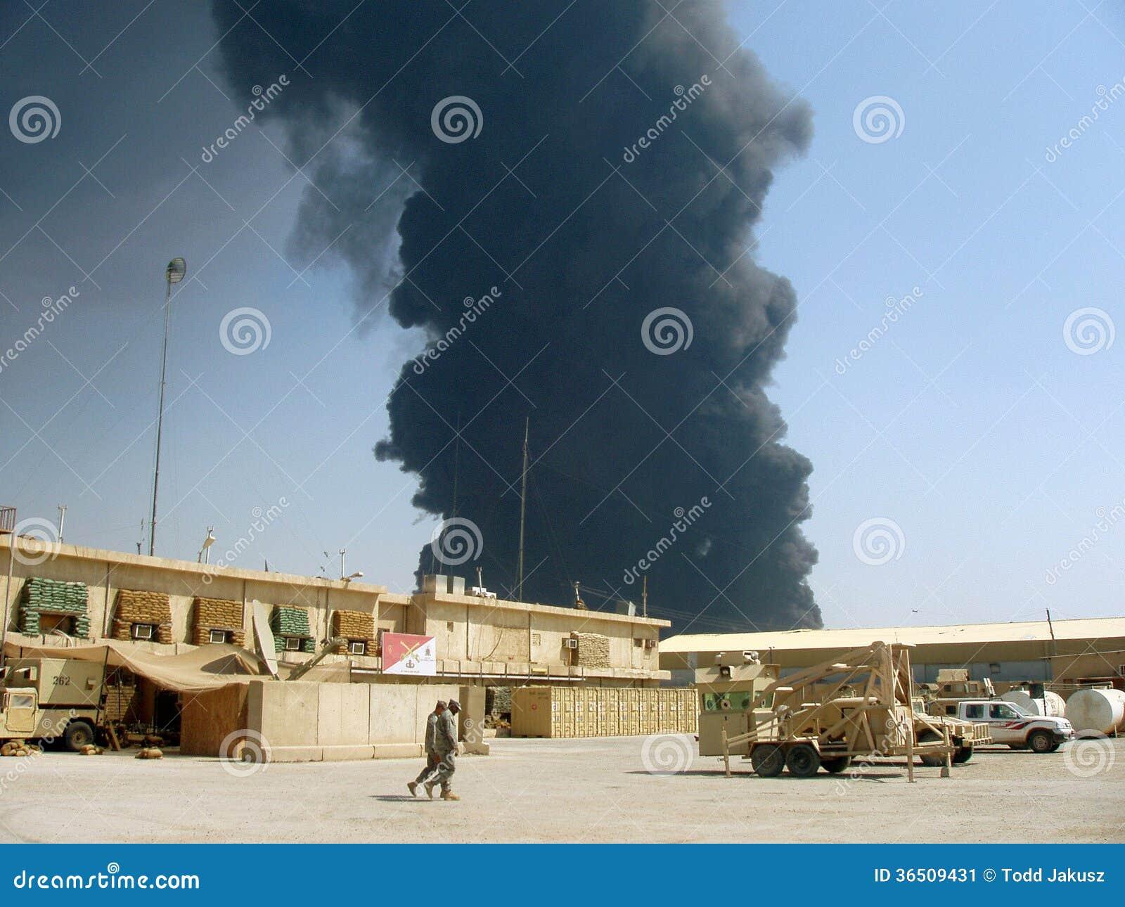 Pijpleiding attack2 Bagdad 07