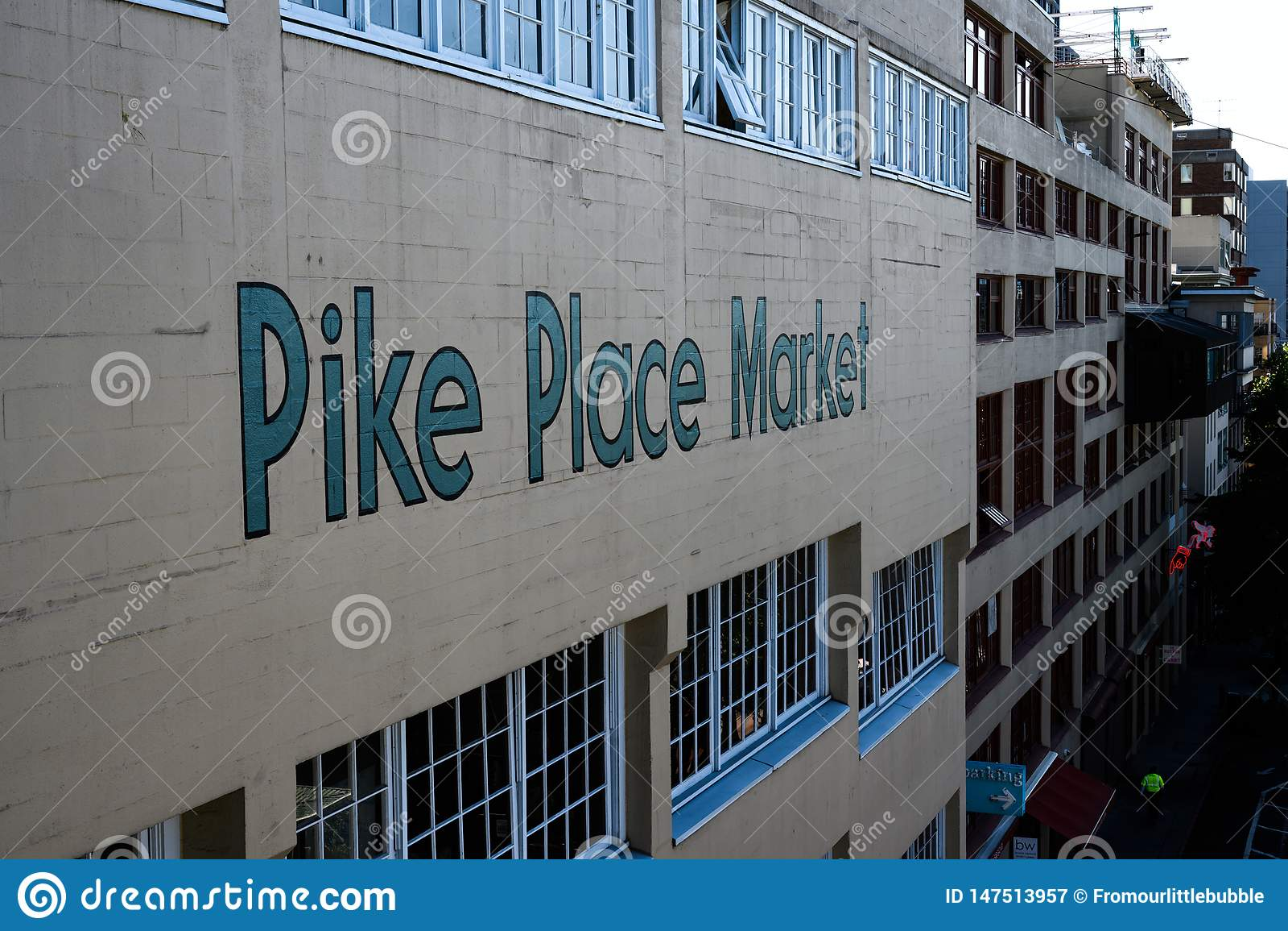 Pike устанавливает рынок от западной стороны
