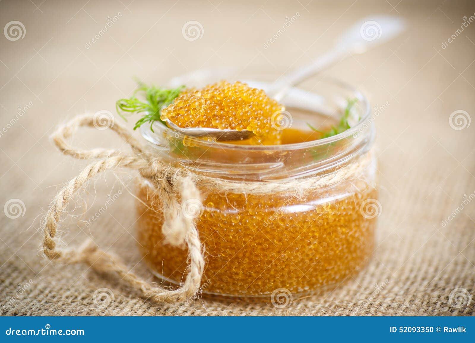 Royal table: pike caviar, cooking 90