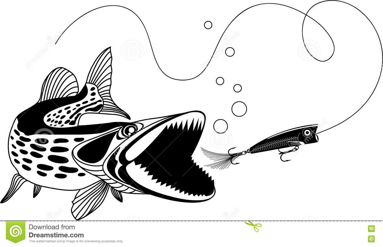 Muskellunge Cartoons Illustrations Amp Vector Stock Images