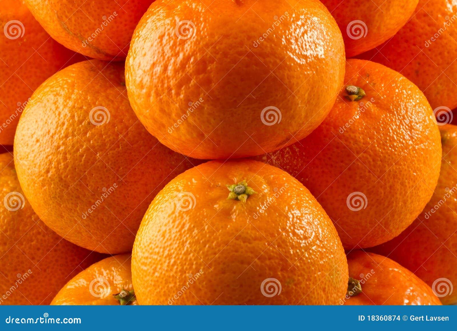 Pila de clementinas