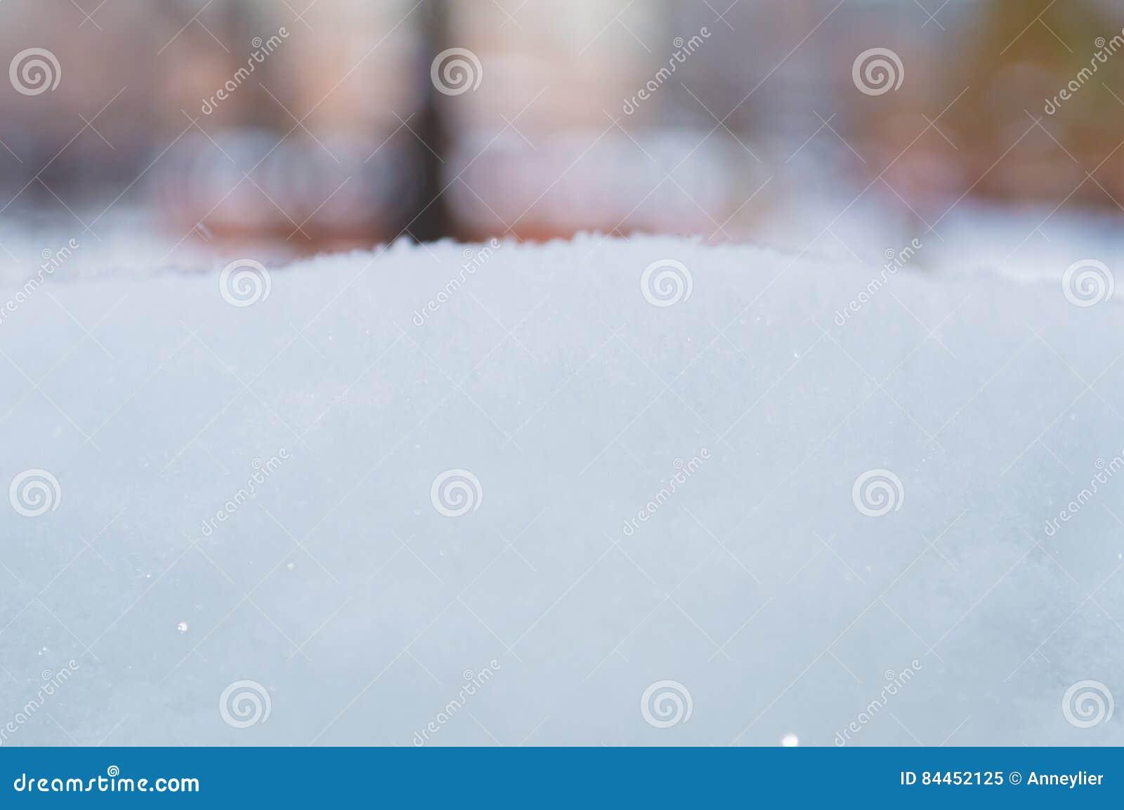 Pila de la nieve