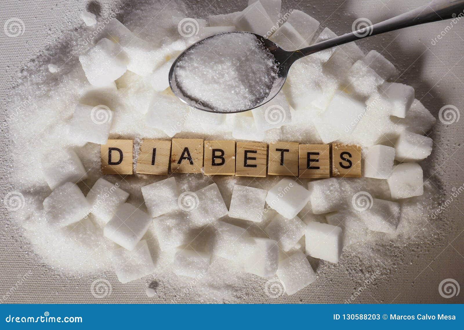 azúcar diabetes metal