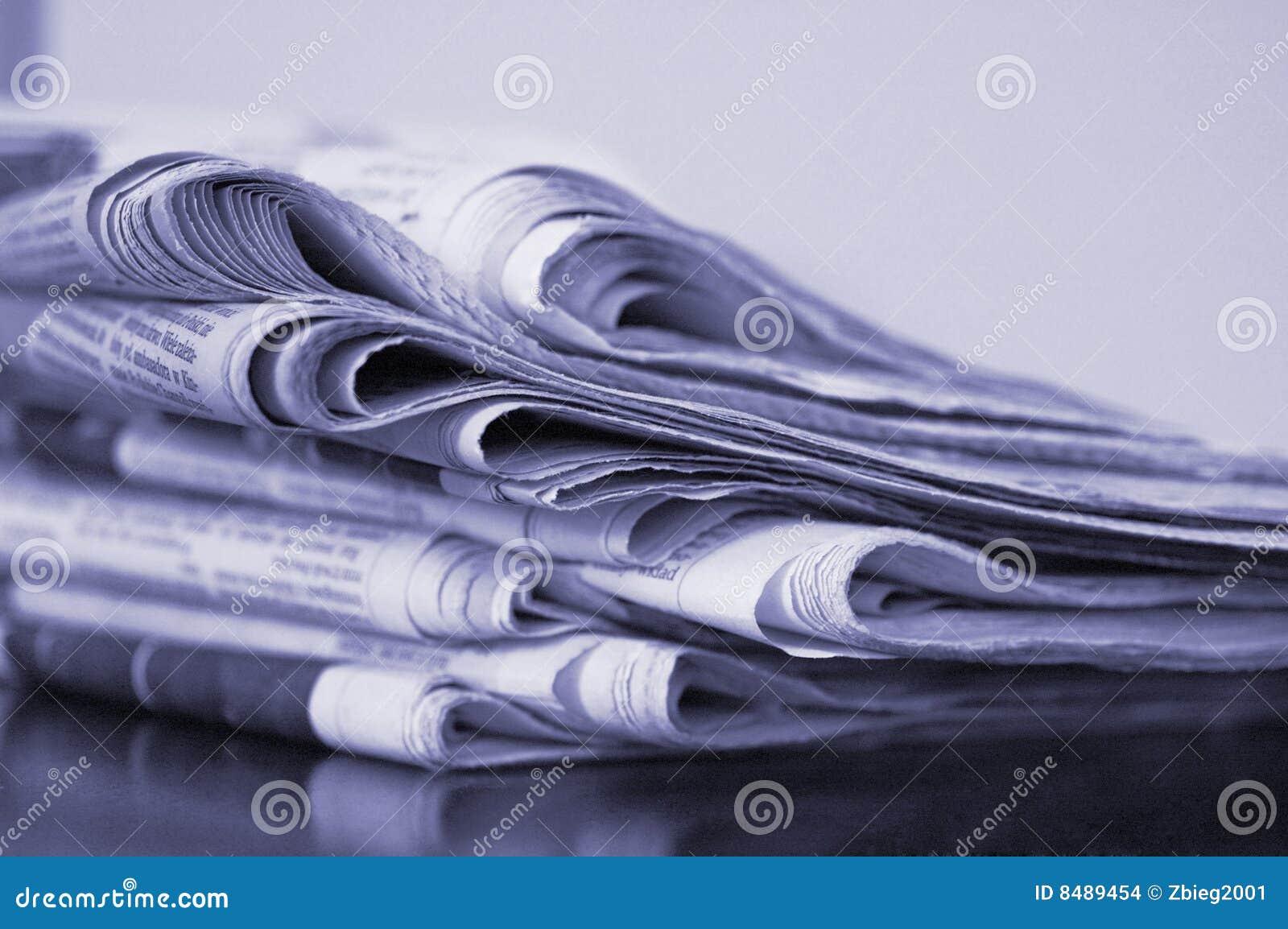 Pila de periódico