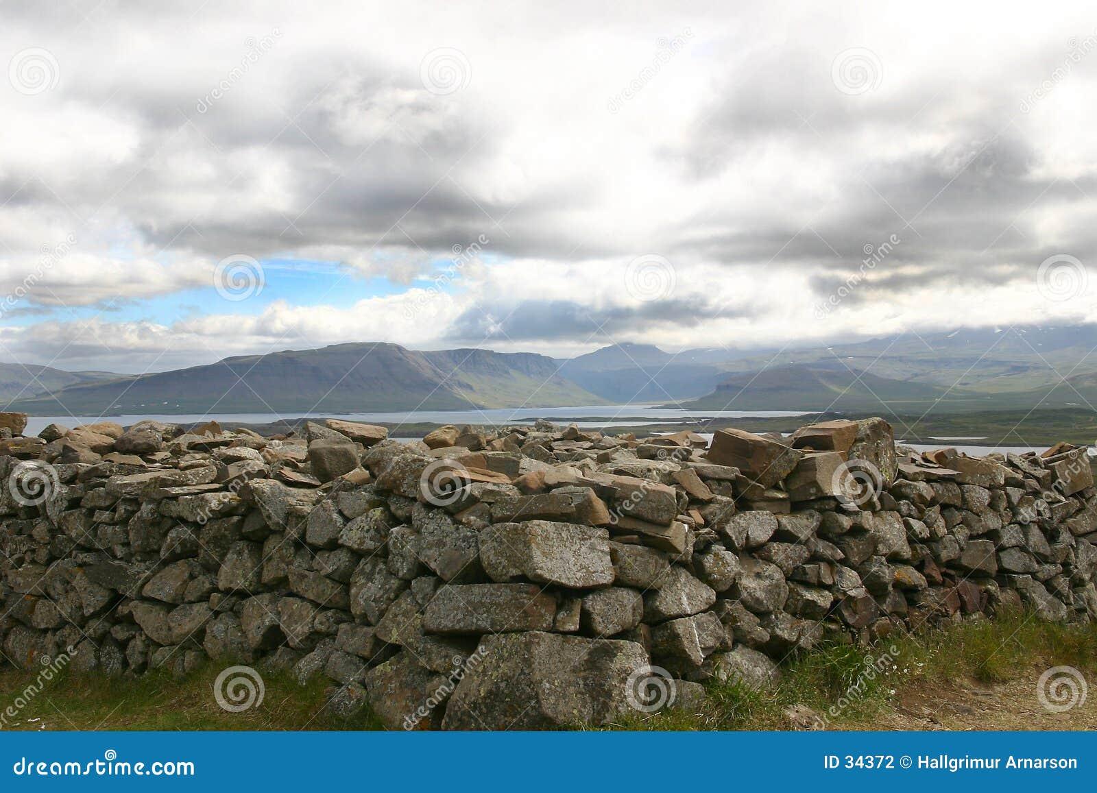 Pila de piedras