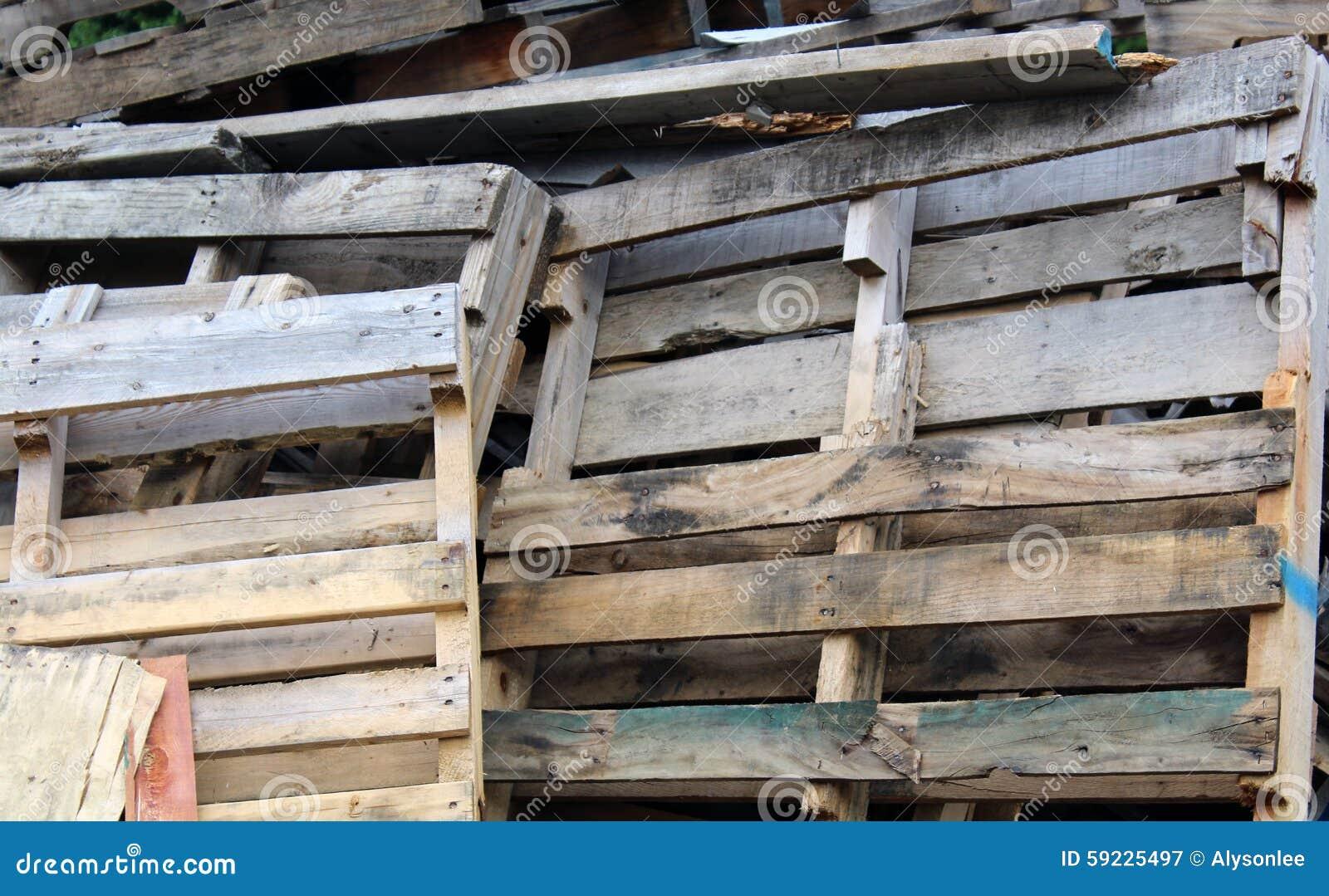 Download Pila De Plataformas De Madera Imagen de archivo - Imagen de fondo, wooden: 59225497