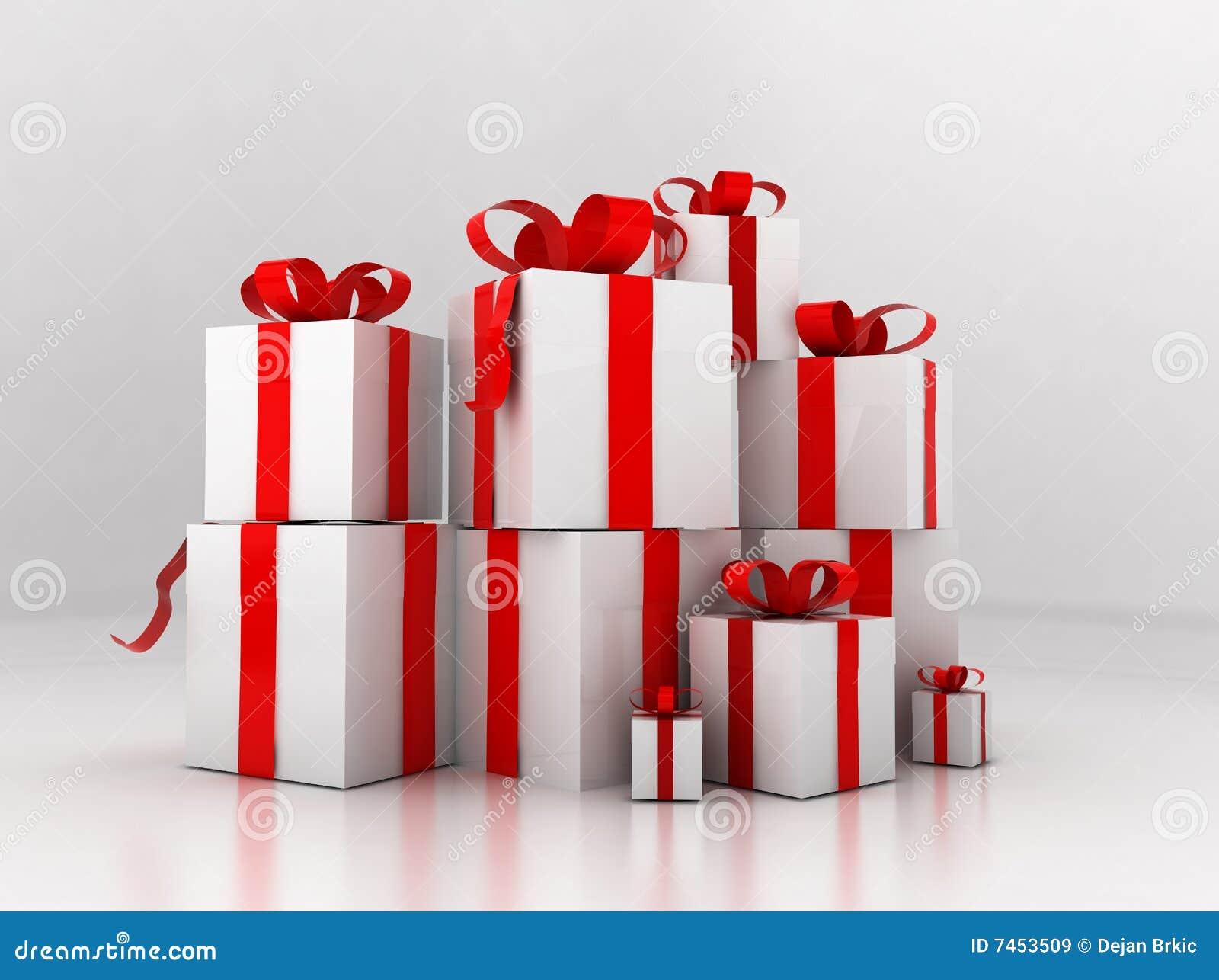 Pila de presentes