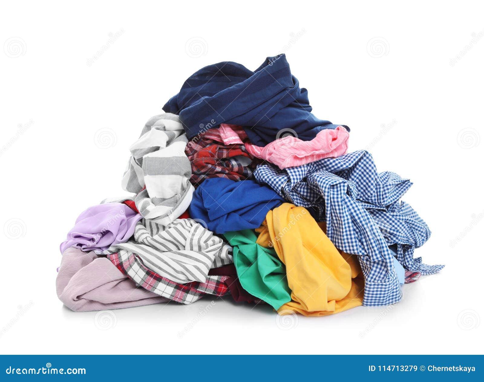 Pila de ropa sucia